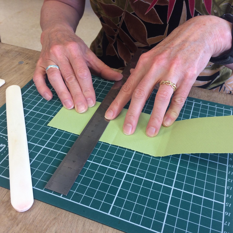 Measuring soft back cover