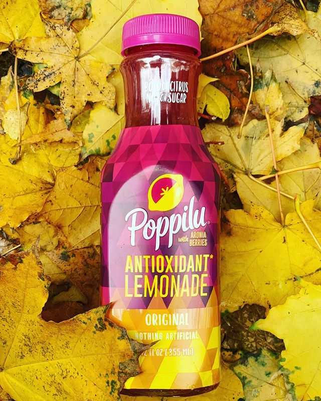 Poppilu 🍋-ade isn't just for summer. Our high Vitamin C is the perfect tart & tangy health boost for fall too 🍁 #drinkpoppilu