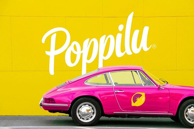 Be bold & stay sassy. 🍋⠀ .⠀ .⠀ .⠀ #DrinkPoppilu #boldandsassy #tartandtangy #lemonade #aroniaberries #carsofsummer #summerpics #summerfeels