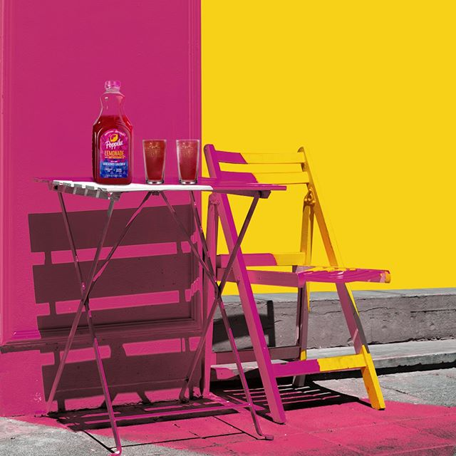 We're painting the town Poppilu pink - who wants to join?⁠ .⁠ .⁠ .⁠ #DrinkPoppilu #boldandsassy #tartandtangy #lemonade #aroniaberries #summertimedrinks #drinkpink #pinklemonade #paintthetown
