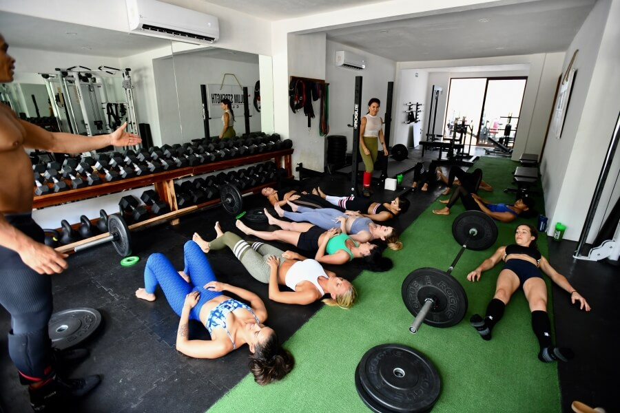 Tulum Strength Club  In collaboration with JJB and MM