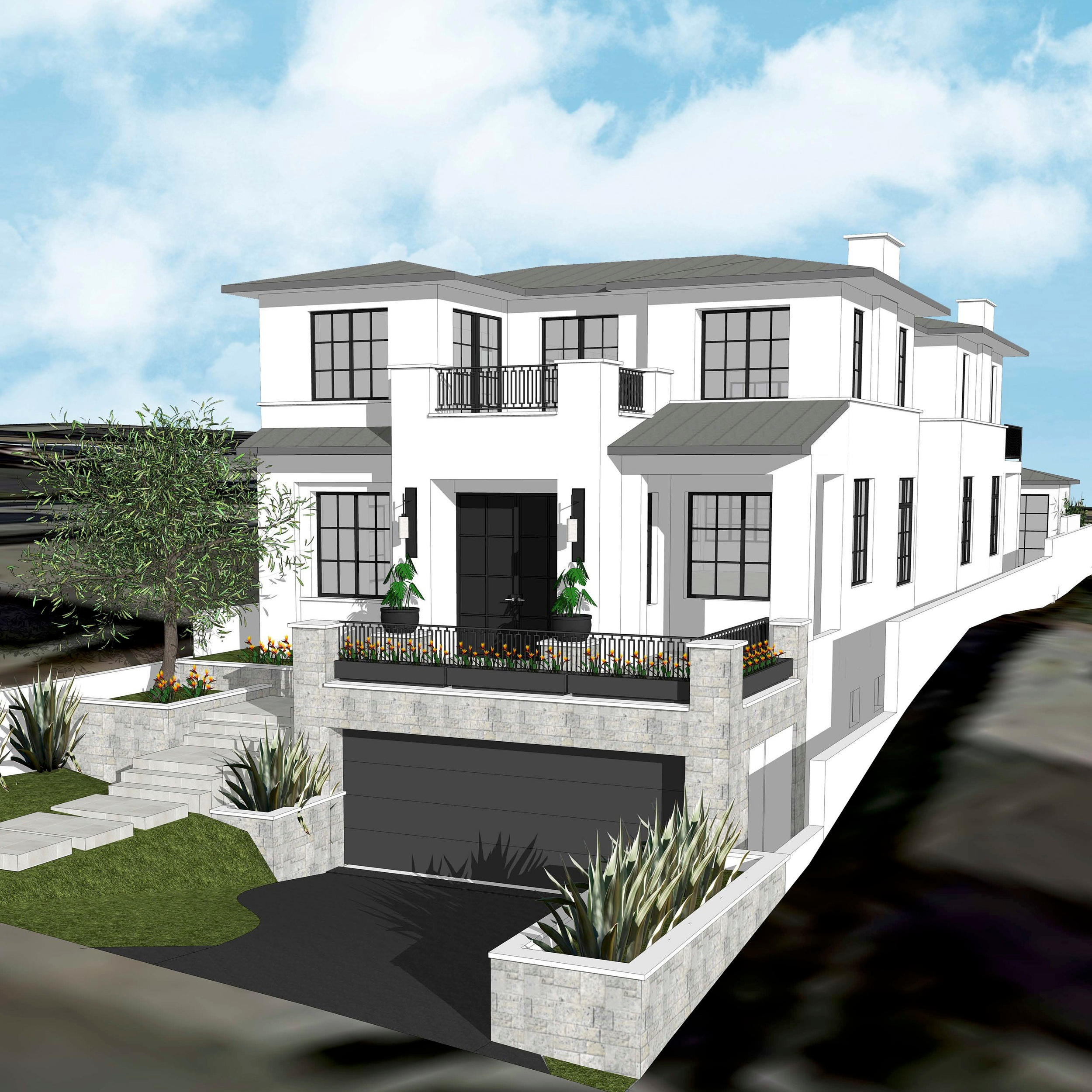 concept - Our aim is to help our clients navigate the design and build process of the project from its inception. Whether it's a remodel, or new build, we listen to your needs for the project during the planning stage to ensure all visions of your home are realized. Our firm works closely with each architect and client providing renderings of architectural details, interior elevations, and furniture floor plans prior to the permitting phase. This allows our clients to visualize their space and fall in love with the design. It also allows us to pin point anything that requires editing prior to the build phase, and anticipate challenges early so that construction is not delayed and additional costs do not arise.