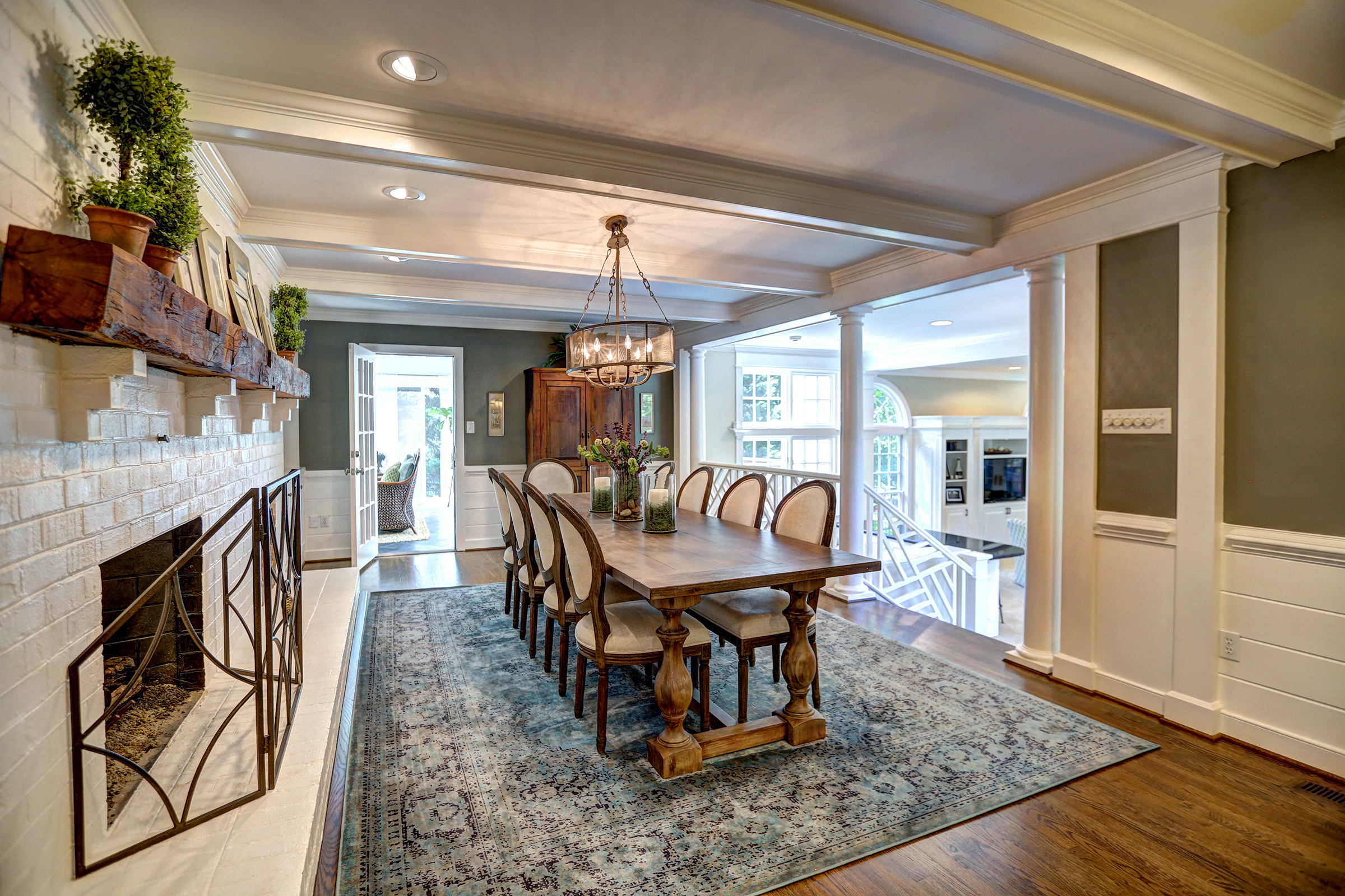 The New Traditional - Classic style that's current, inviting and livable.