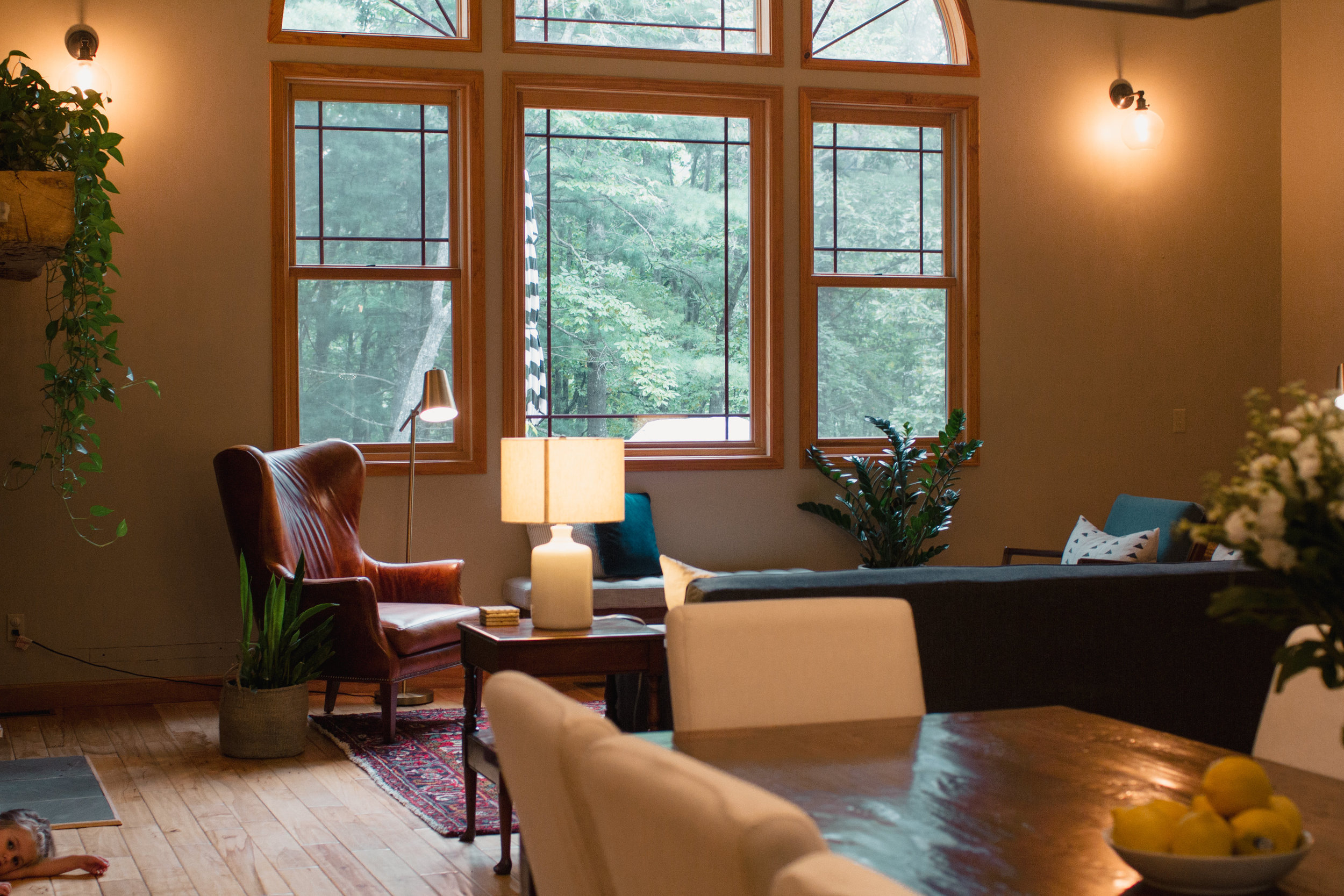 Mountain Mix - Craftsman home with a mix of midcentury, contemporary and rustic styles.