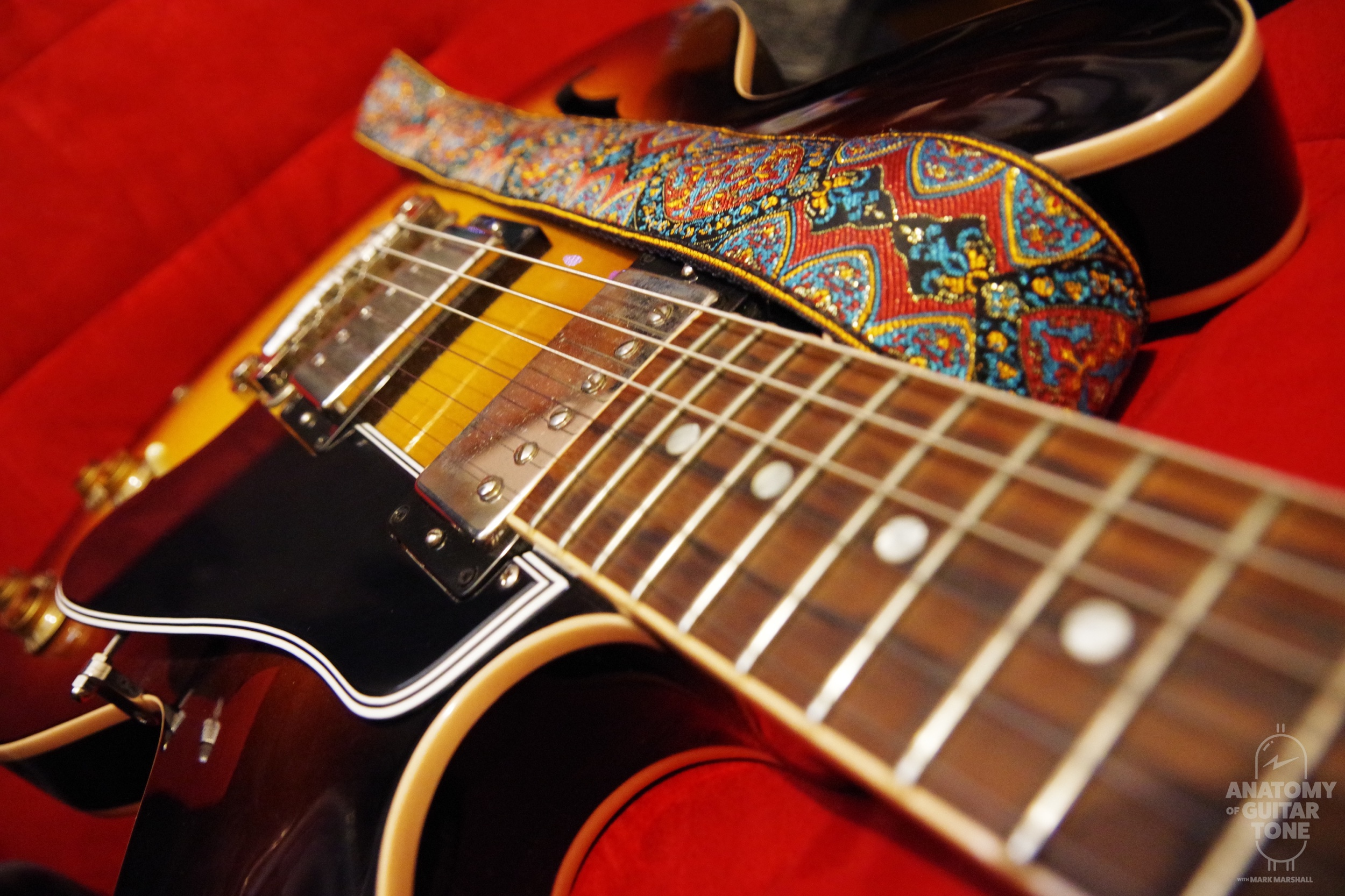 Gibson ES-335 with Airstrap