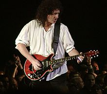 Brian May guitarist of Queen