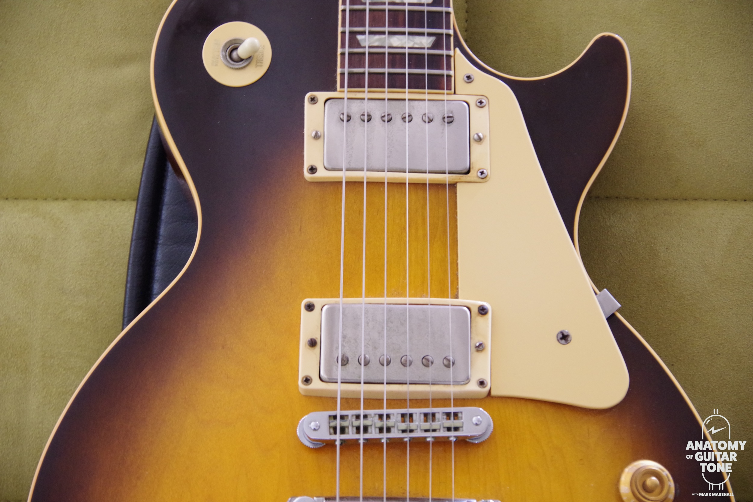 1990 Les Paul Standard with 50's wiring and Florence '59 Pickups