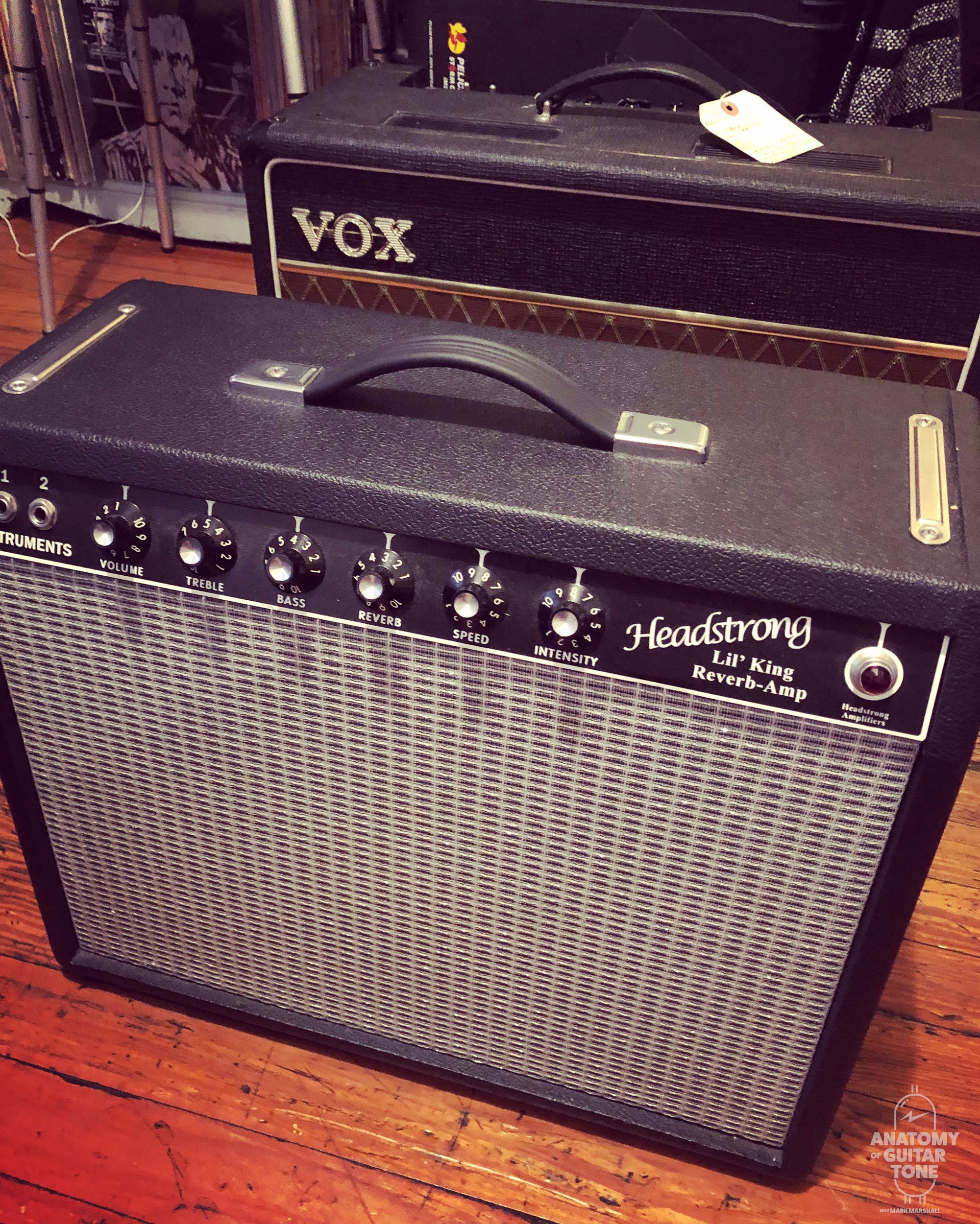 Headstrong Lil King Reverb and Vox AC15
