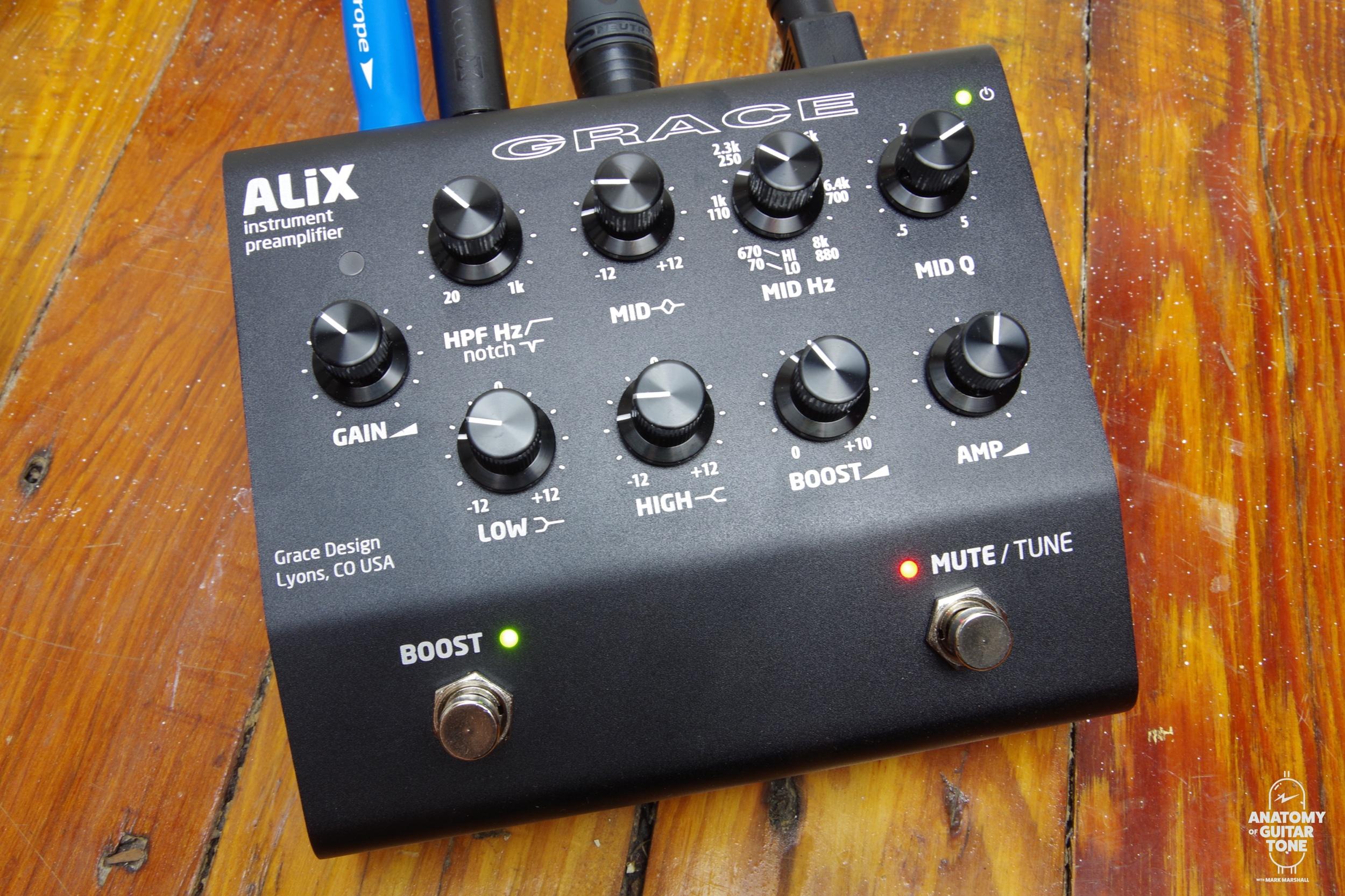 Grace Alix Acousric Guitar Preamp