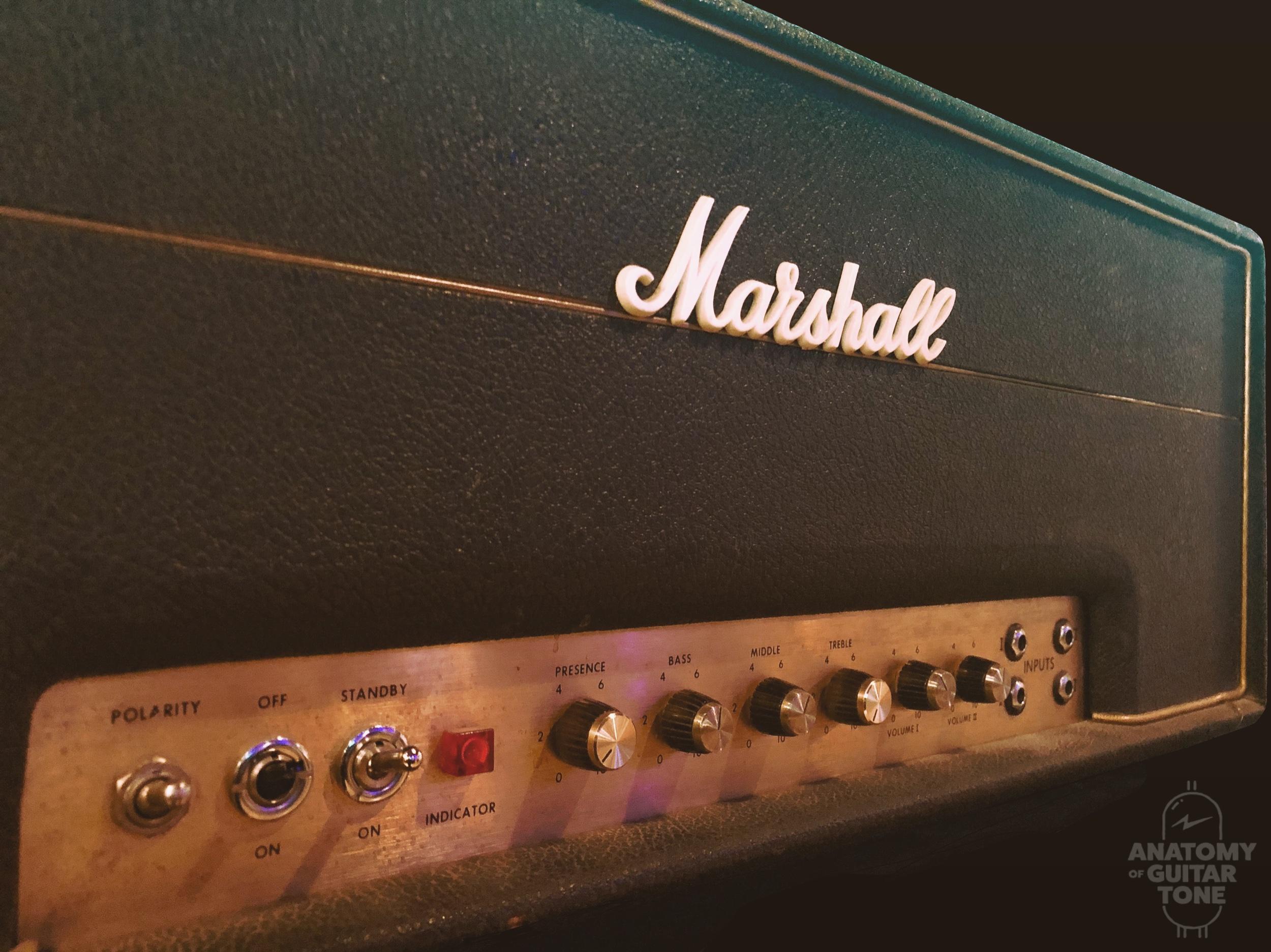 Marshall JMP 100 watt head