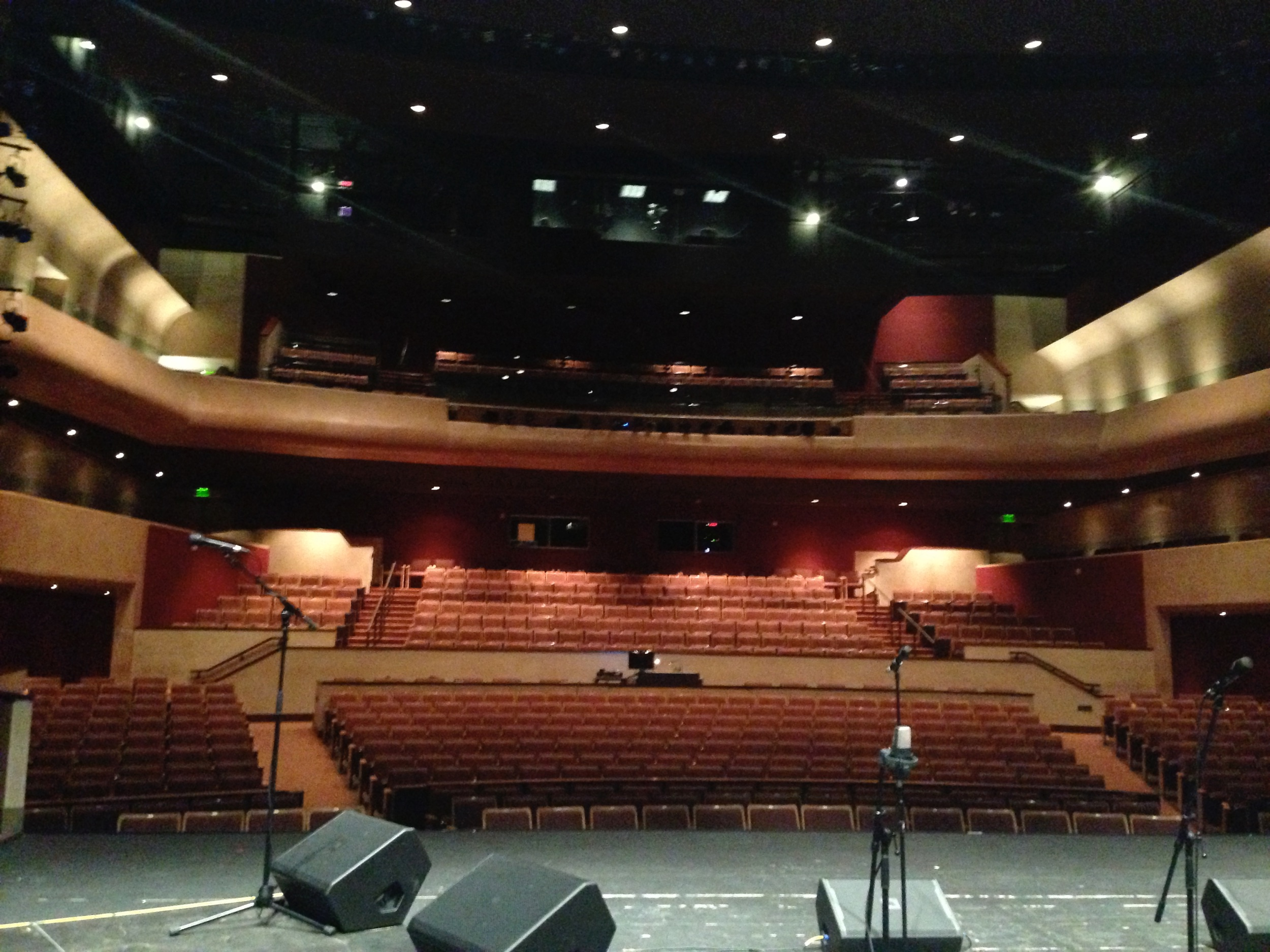 MIM Theater in New Mexico where I played with Nation Beat