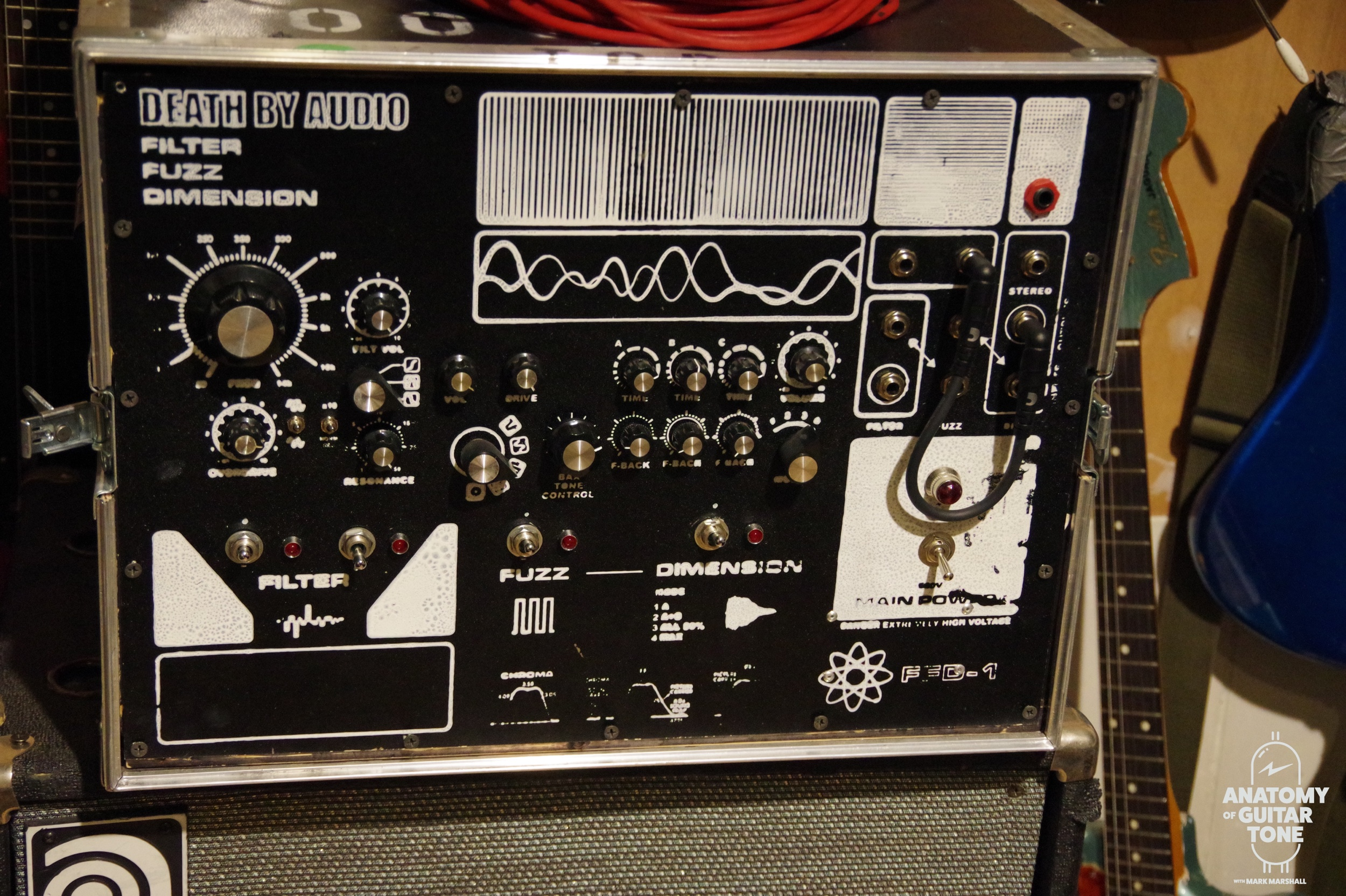 Death by Audio one of. A kind