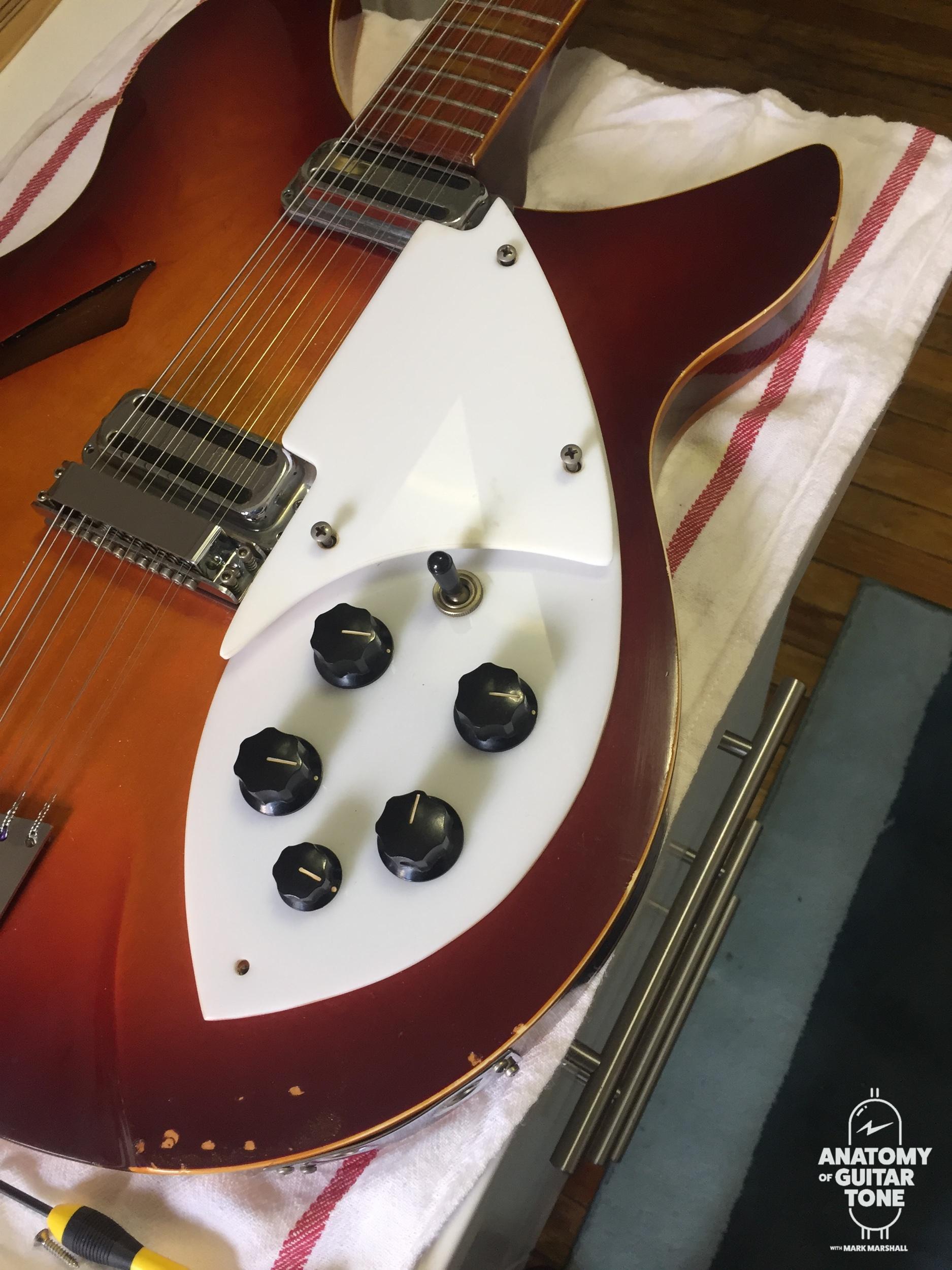 A vintage 1964 Rickenbacker 360 12
