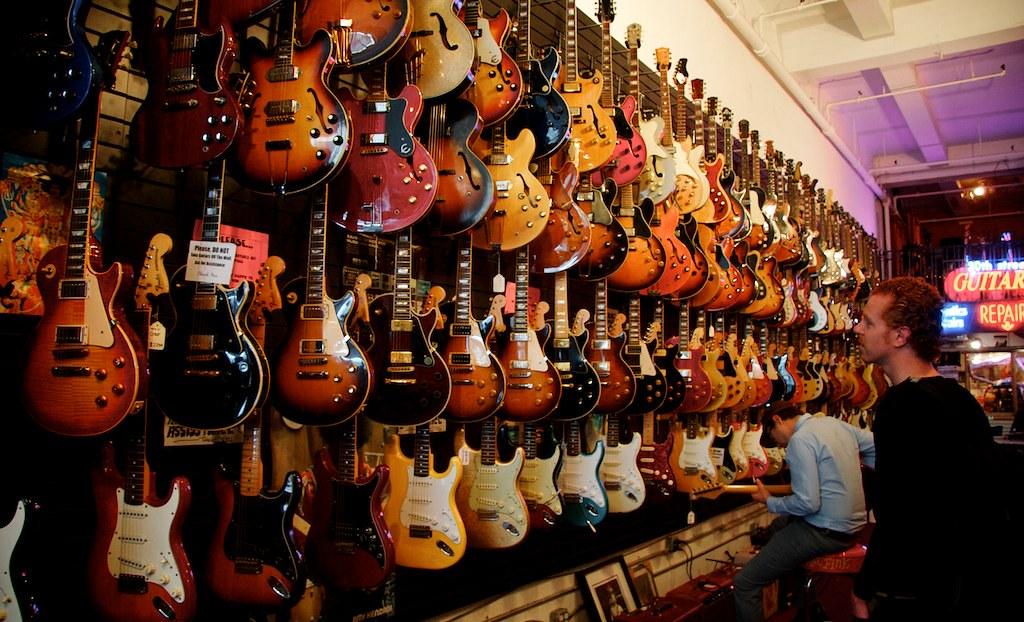 30th Street Guitars in Manhattan