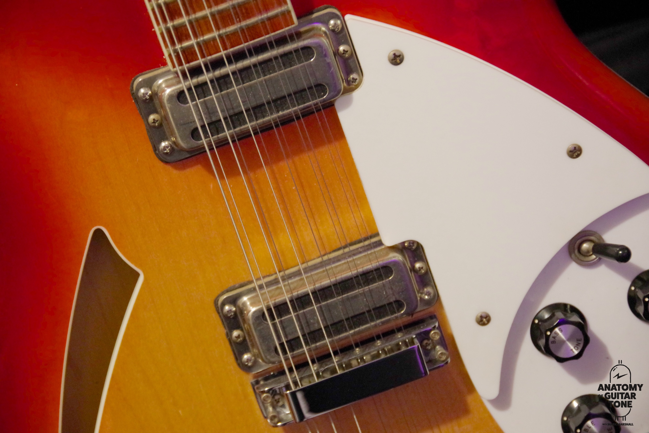 2001 rickenbacker 360/12 with gemini toaster pickups and vintage wiring