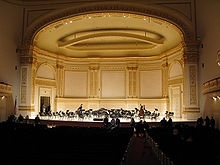 Carnegie Hall in NYC