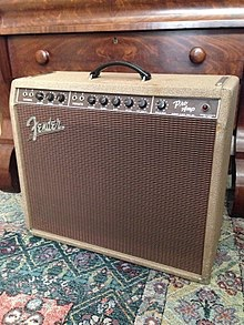 "1962 Fender Pro Amp with 15"" Speaker"