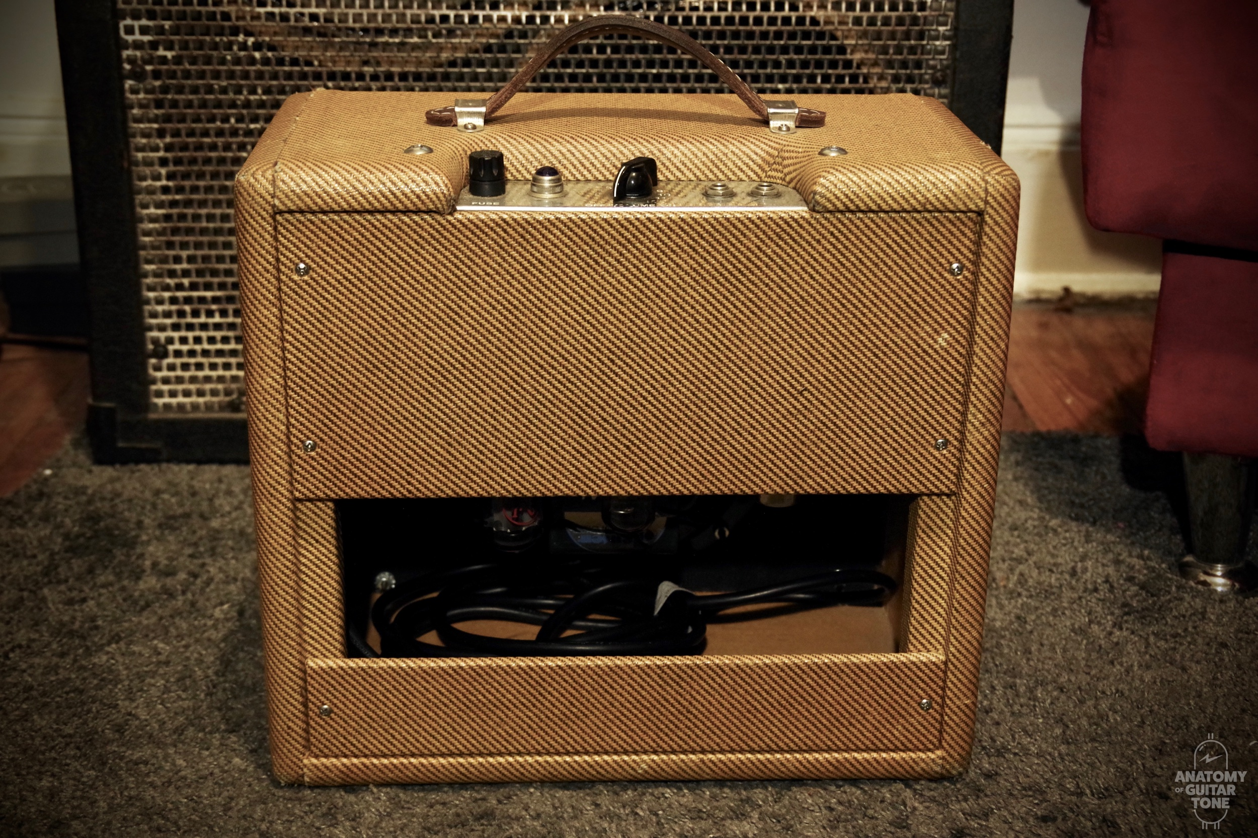 An open back cab