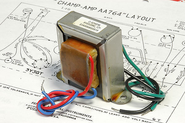 And output transformer for a Fender amp
