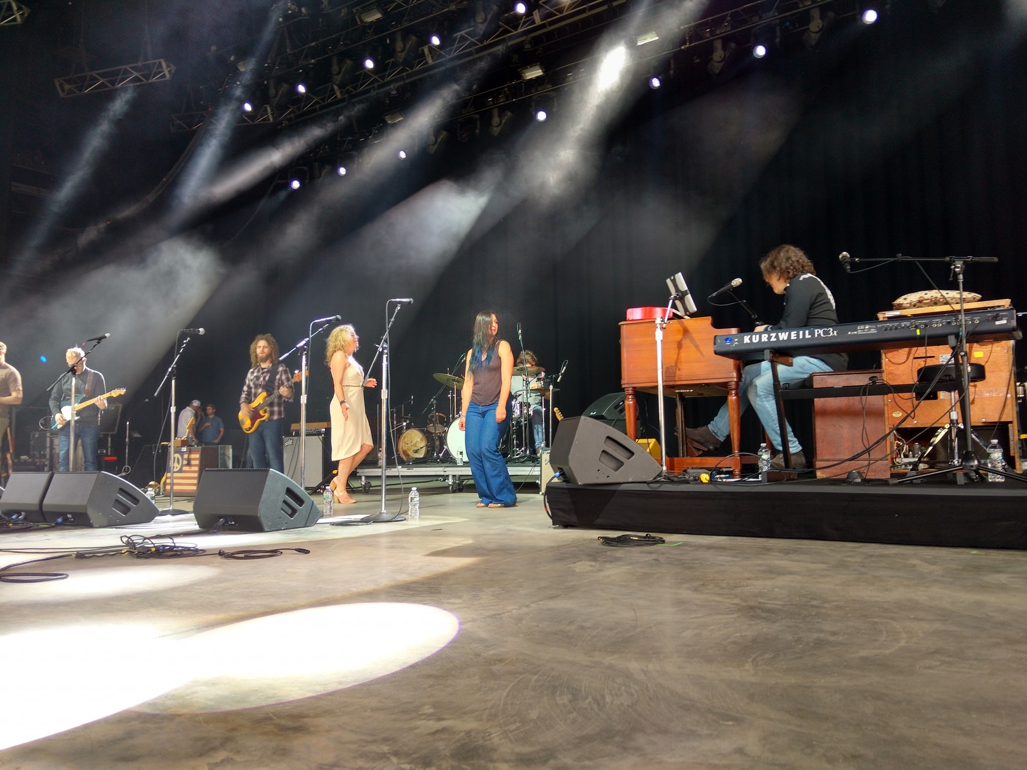 Playing Mountain Jam 2019 on a large stage using a 40-watt amp