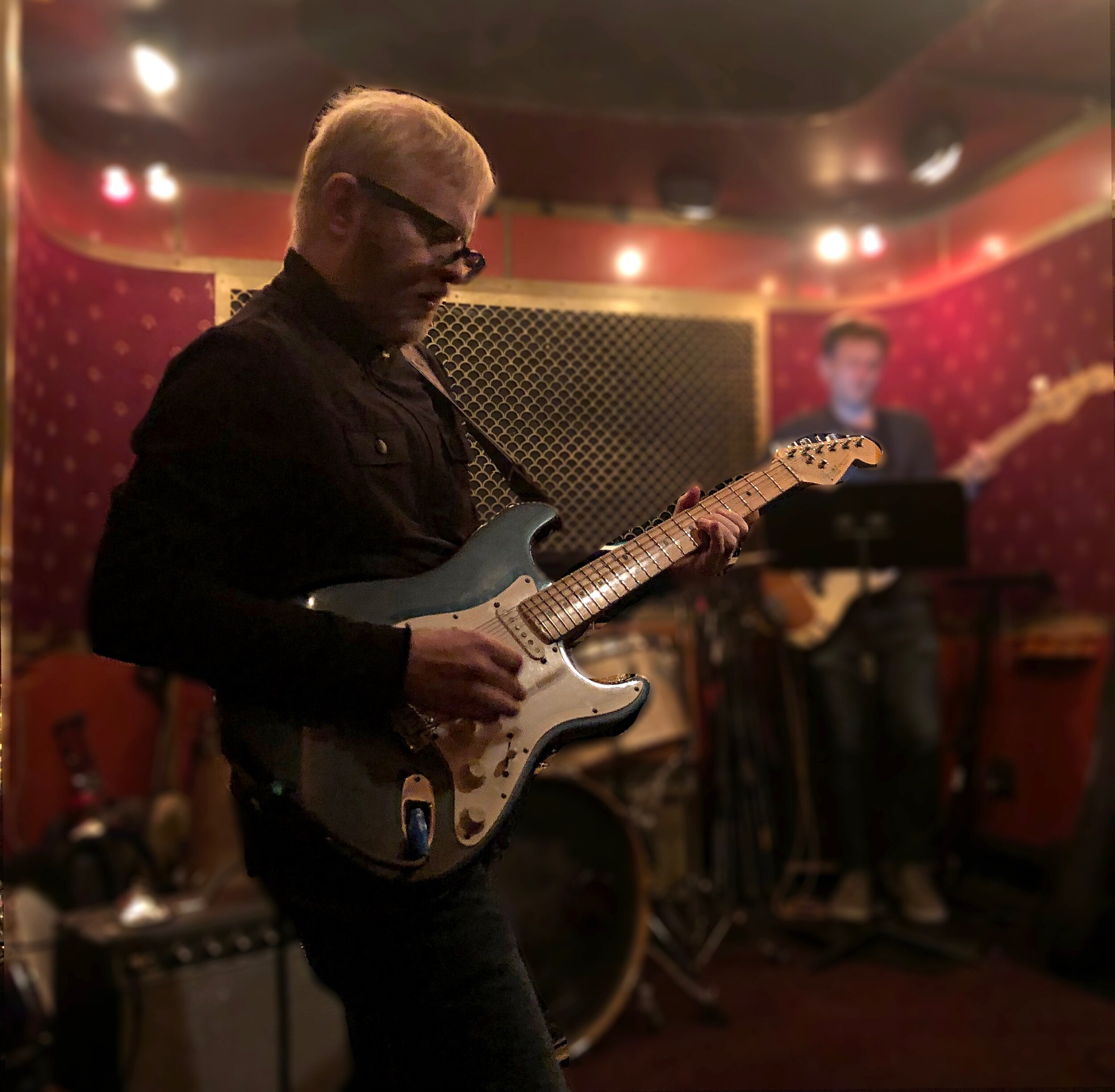 Playing Pete's Candy Store in Brooklyn,, NY with a 12-watt amp