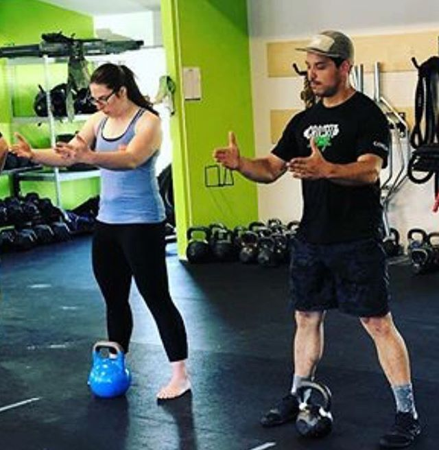"""⠀ """"It's all in the hips""""⠀ ⠀ A lot op people levelled up their #kettlebell game this weekend. ⠀ ⠀ Thanks @kettlebellscience for the great class! ⠀ ⠀ ⠀ ⠀ #recoupyyj ⠀ ⠀ #kettlebellmovement #movementscience #kettlebellexercises #kettlebellrehab #recoup"""