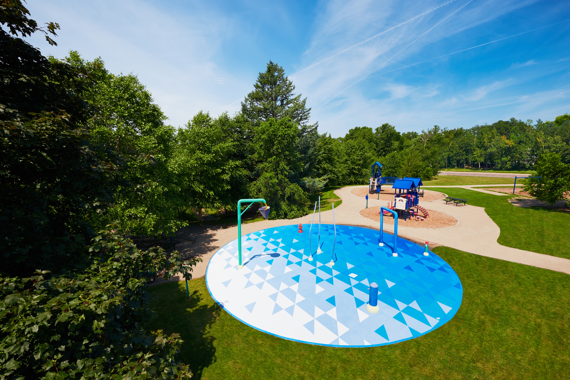 Cedarcrest Splash Pad