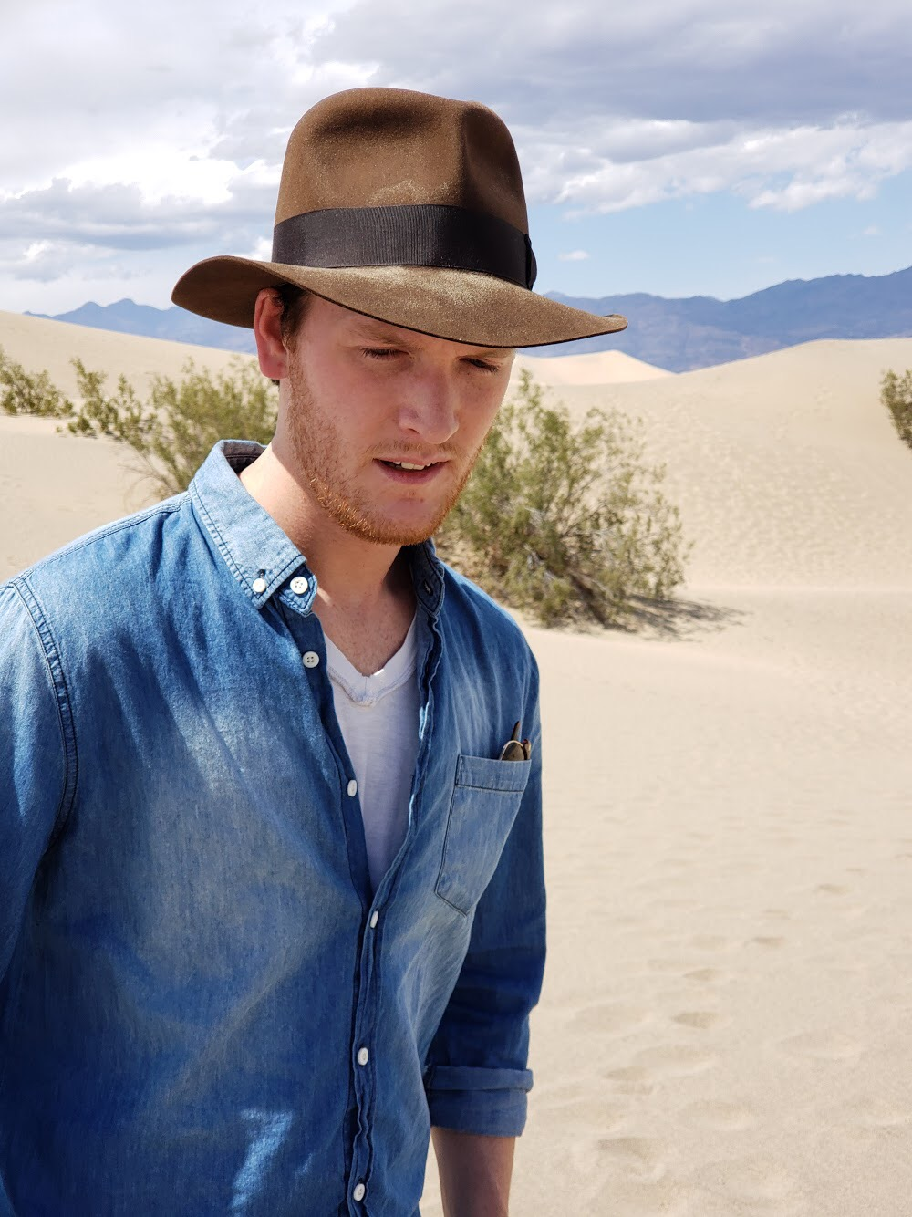 Alex - I really like my Indy hat! -
