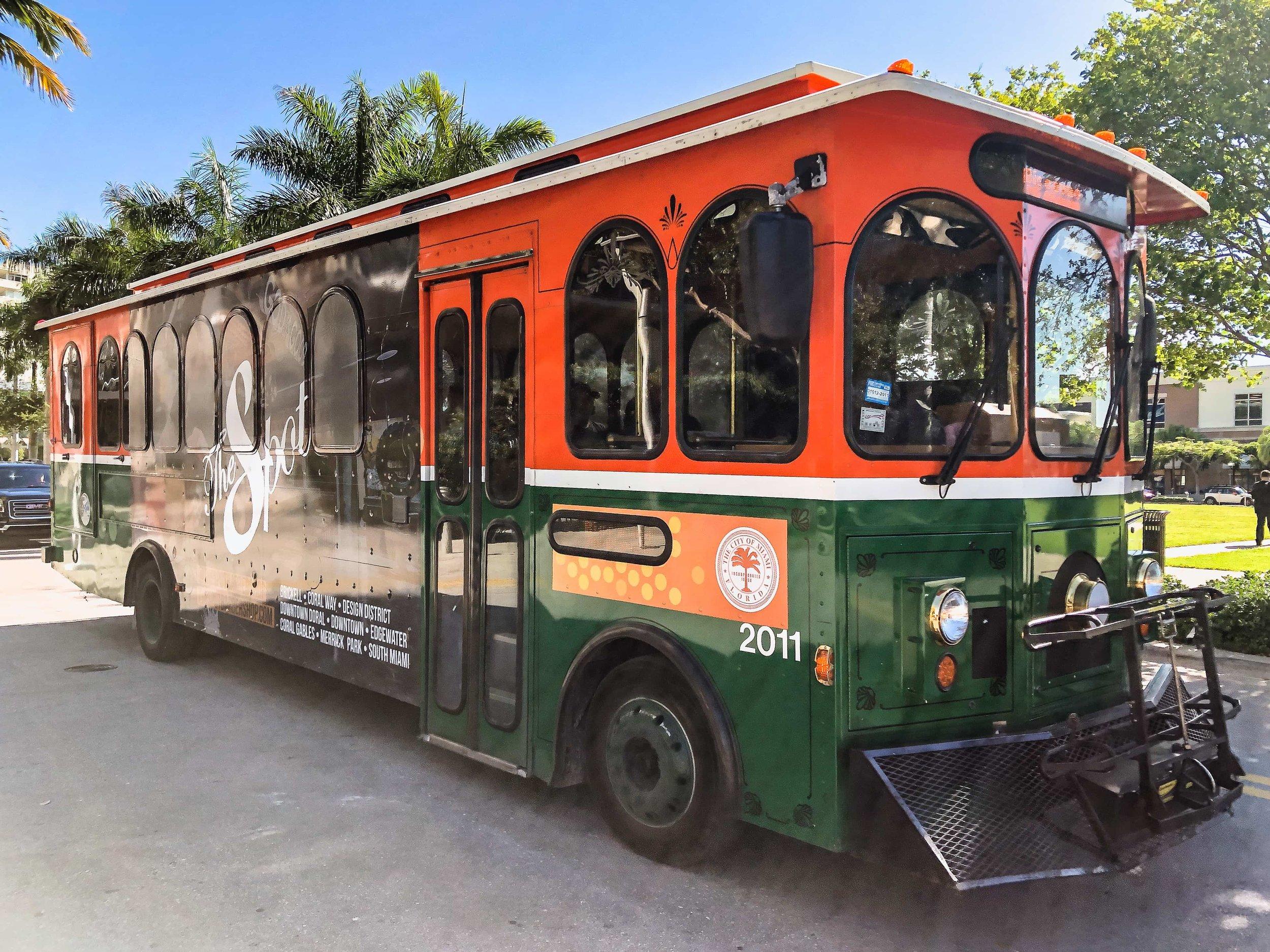 Miami Trolley, Brickell, <Travelhund>