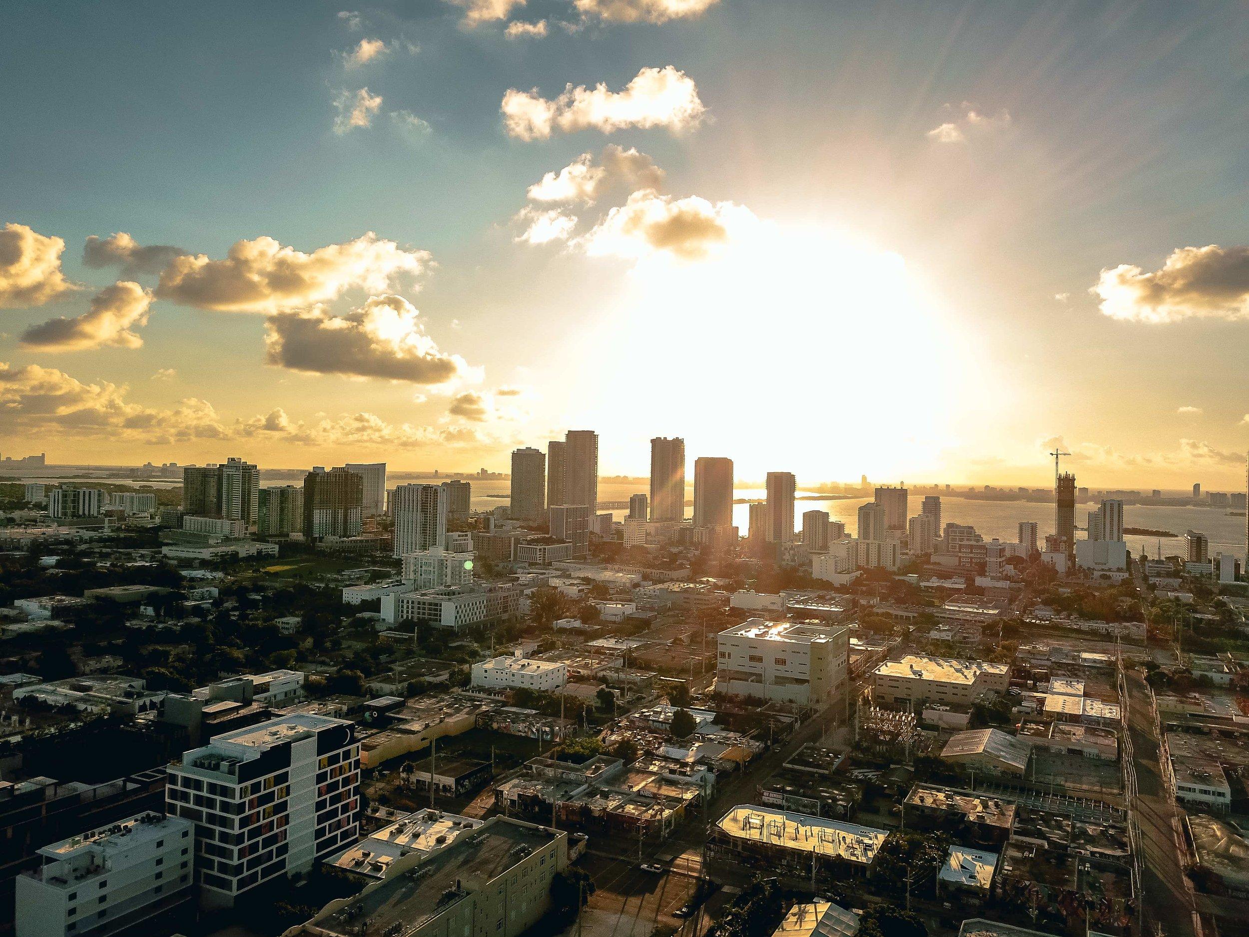 """Sunrise in Miami"", Wynwood, <Travelhund>"