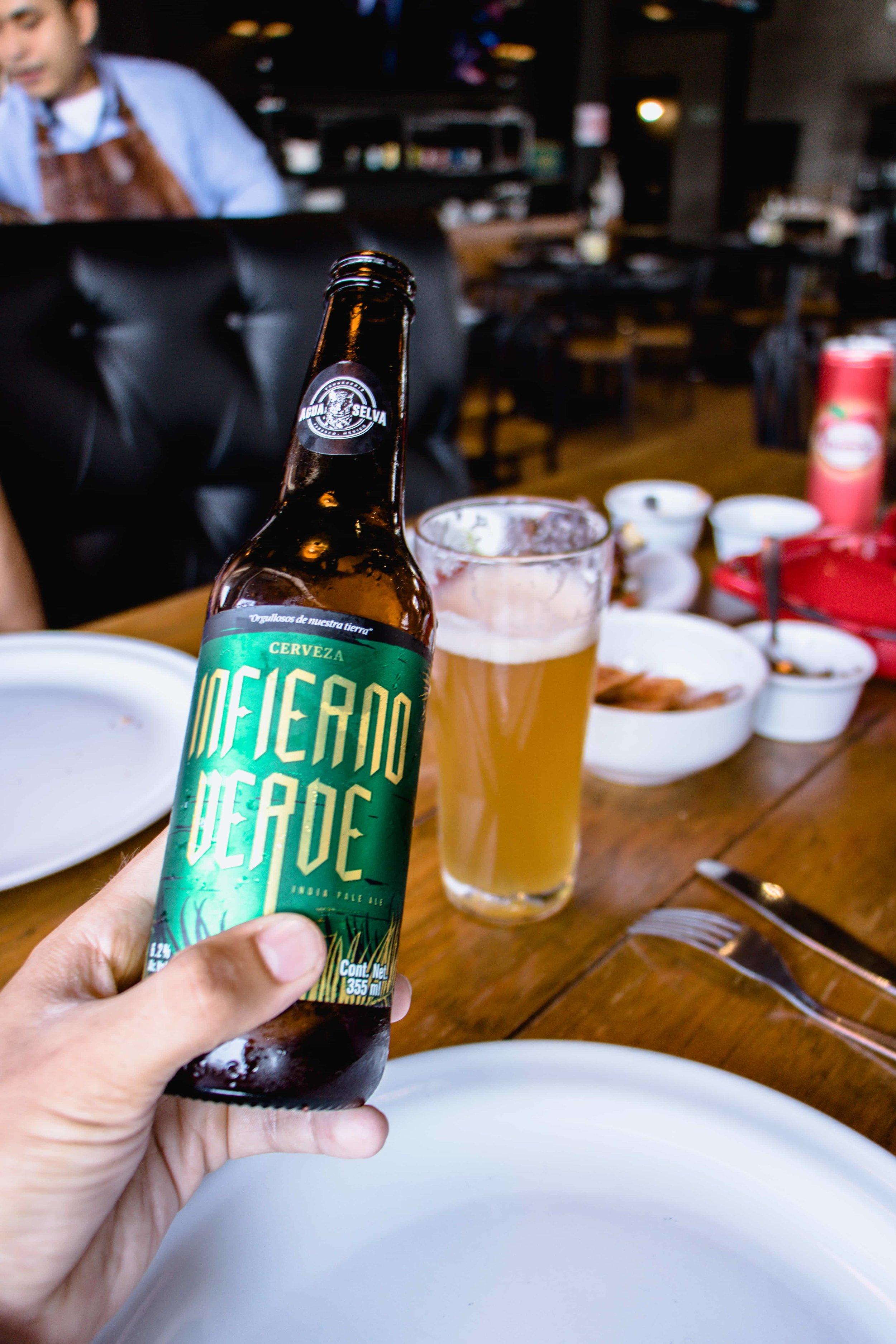"""""""Cerveza Infierno Verde"""", Villahermosa, <Travelhund>"""