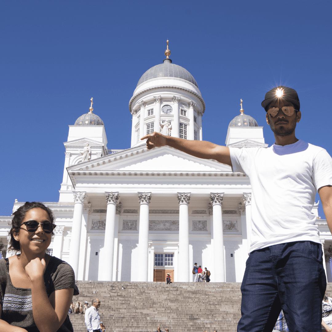 Helsinki, <Travelhund>