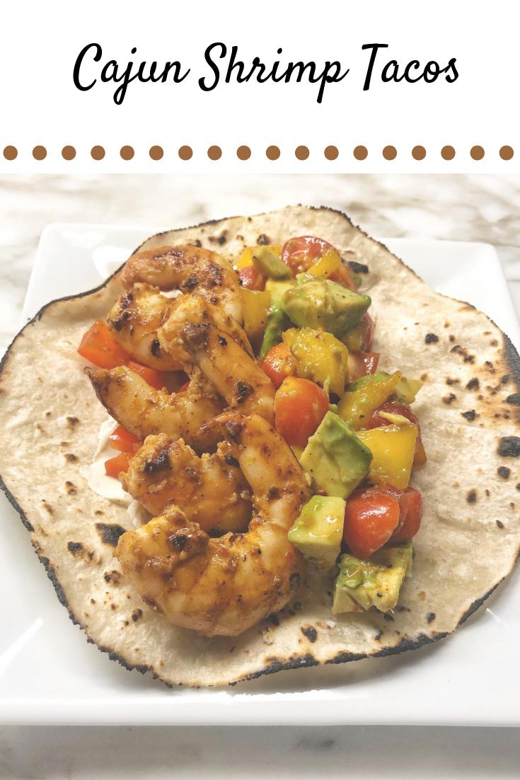 Cajun Shrimp Taco