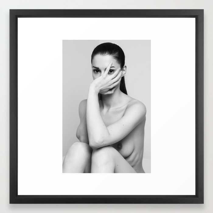 Aline framed art print from $ 49,99 - Choose frame size and color  here