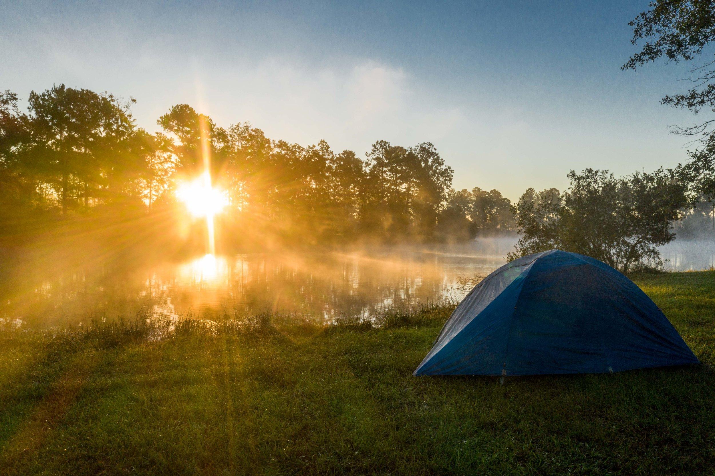 Camping at Palmetto Lake Edge