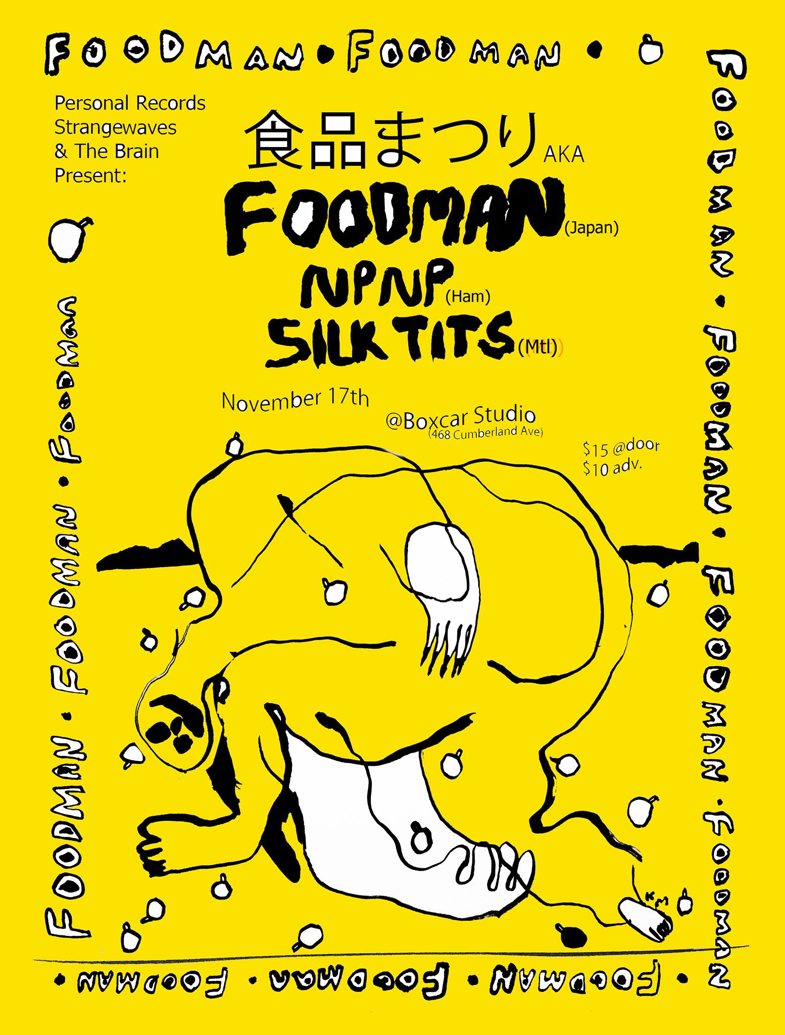 食品まつりA.K.AFOODMAN + NPNP + SILKTITS