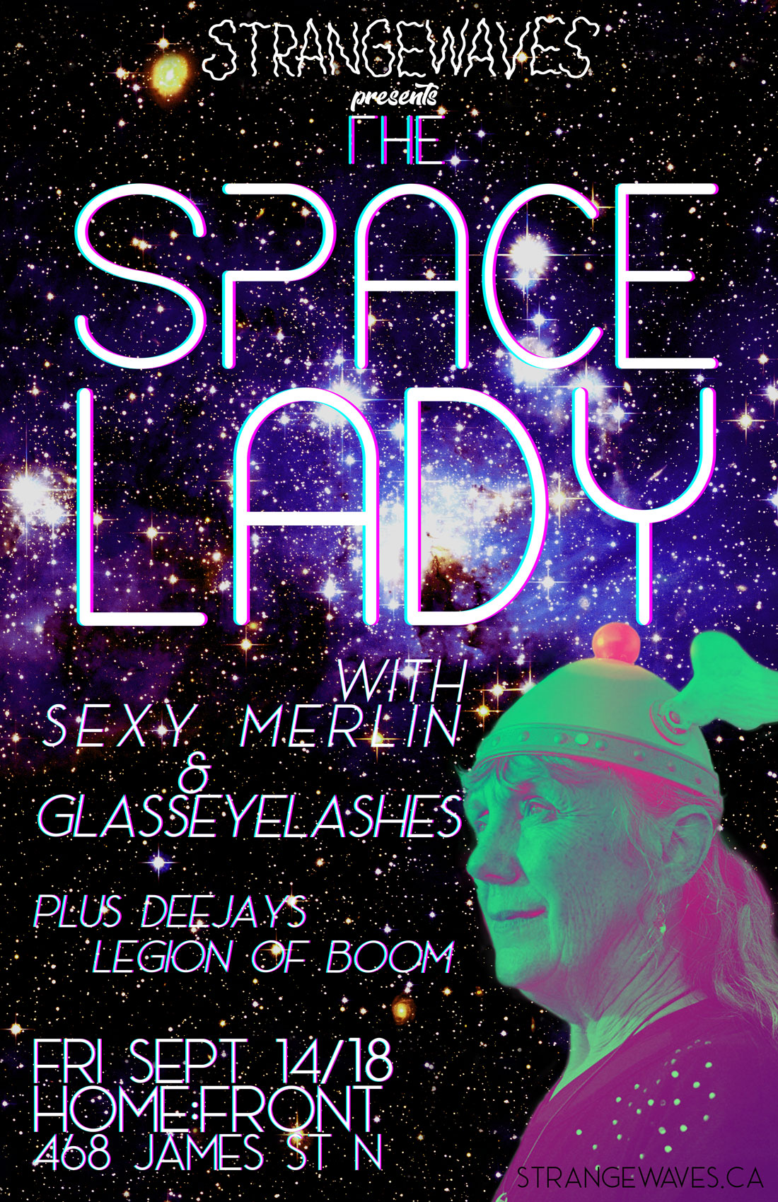 The Space Lady, Sexy Merlin, glassEYElashes  @Home:Front
