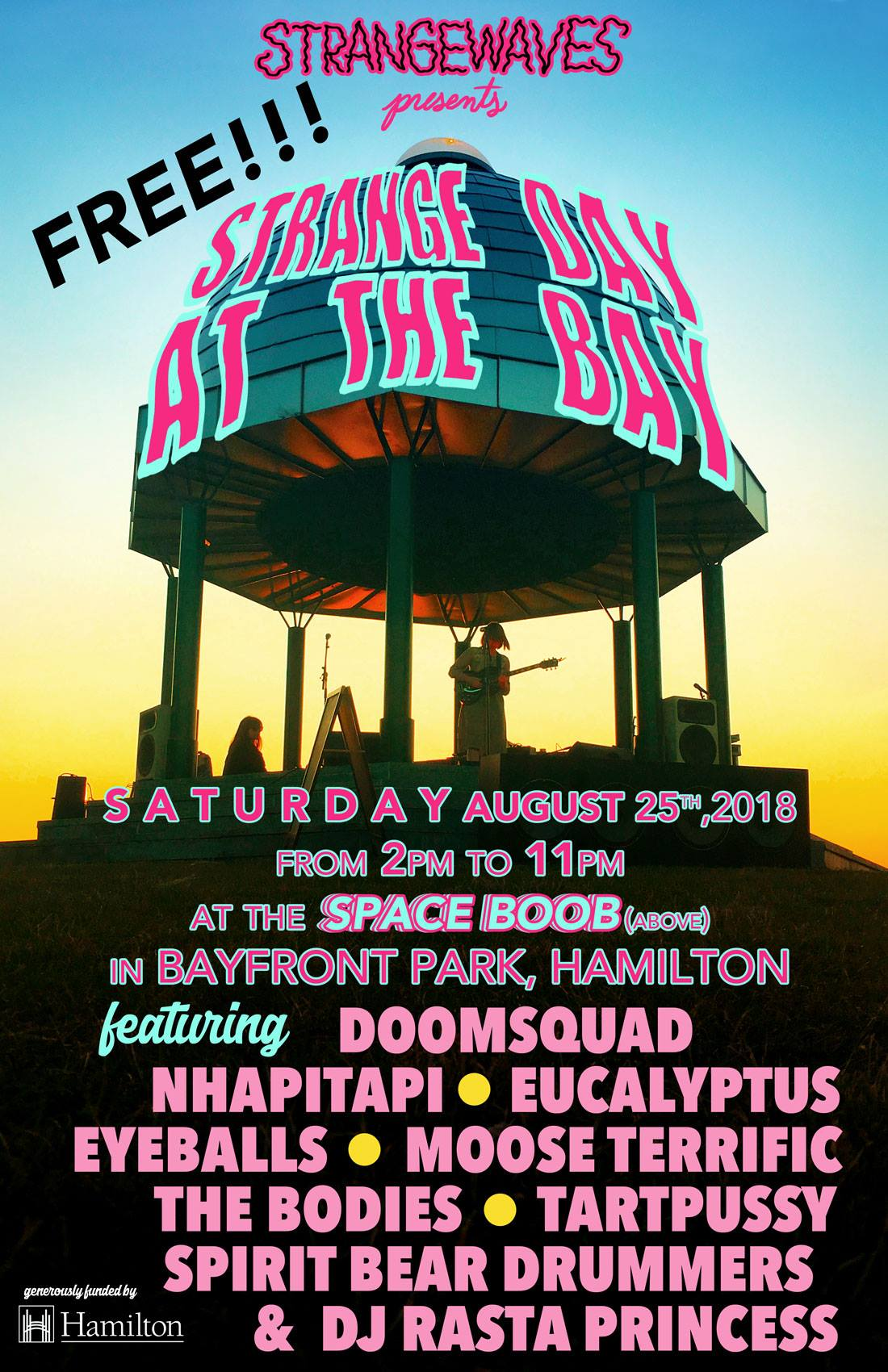 Strange Day At The Bay 2018  @Bayfront Park