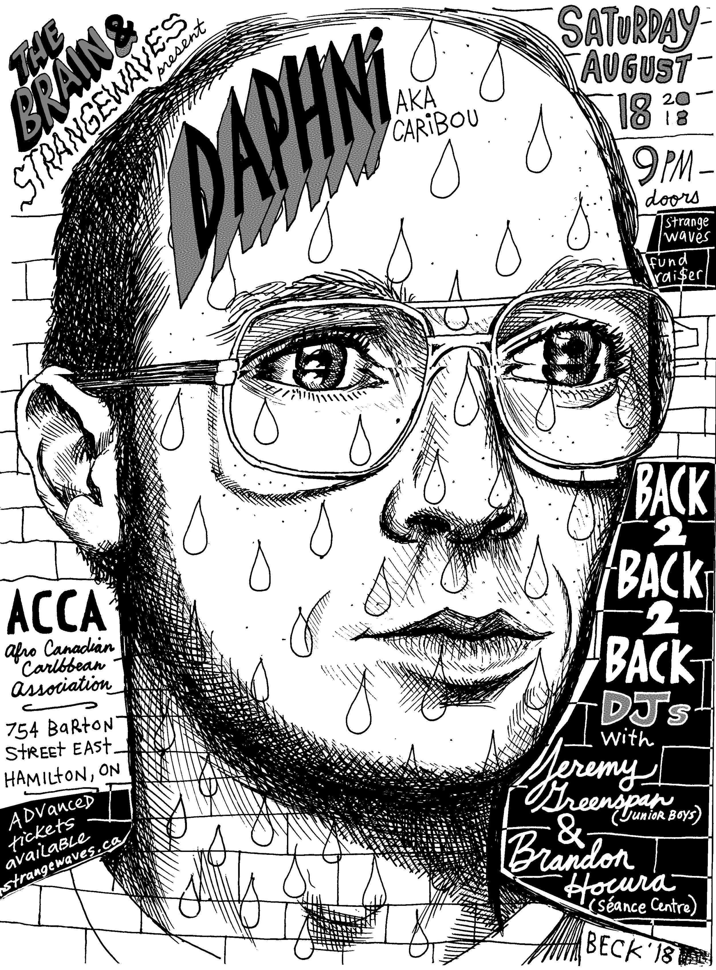 Daphni (Caribou), Jeremy Greenspan, Brandon Hocura  @A.C.C.A