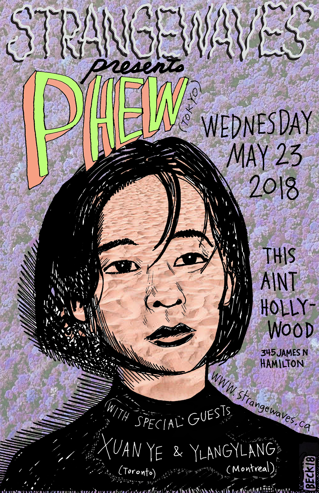 PHEW (Japanese legend) with YlangYlang & Xuan Ye  @This Ain't Hollywood