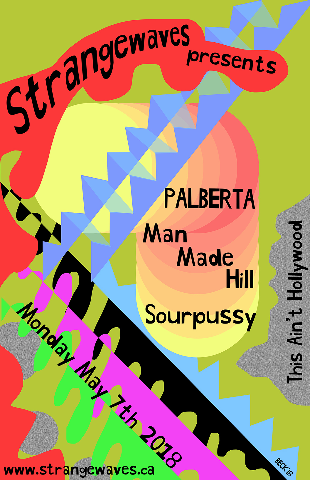 Palberta, Man Made Hill, Sourpussy  @This Ain't Hollywood