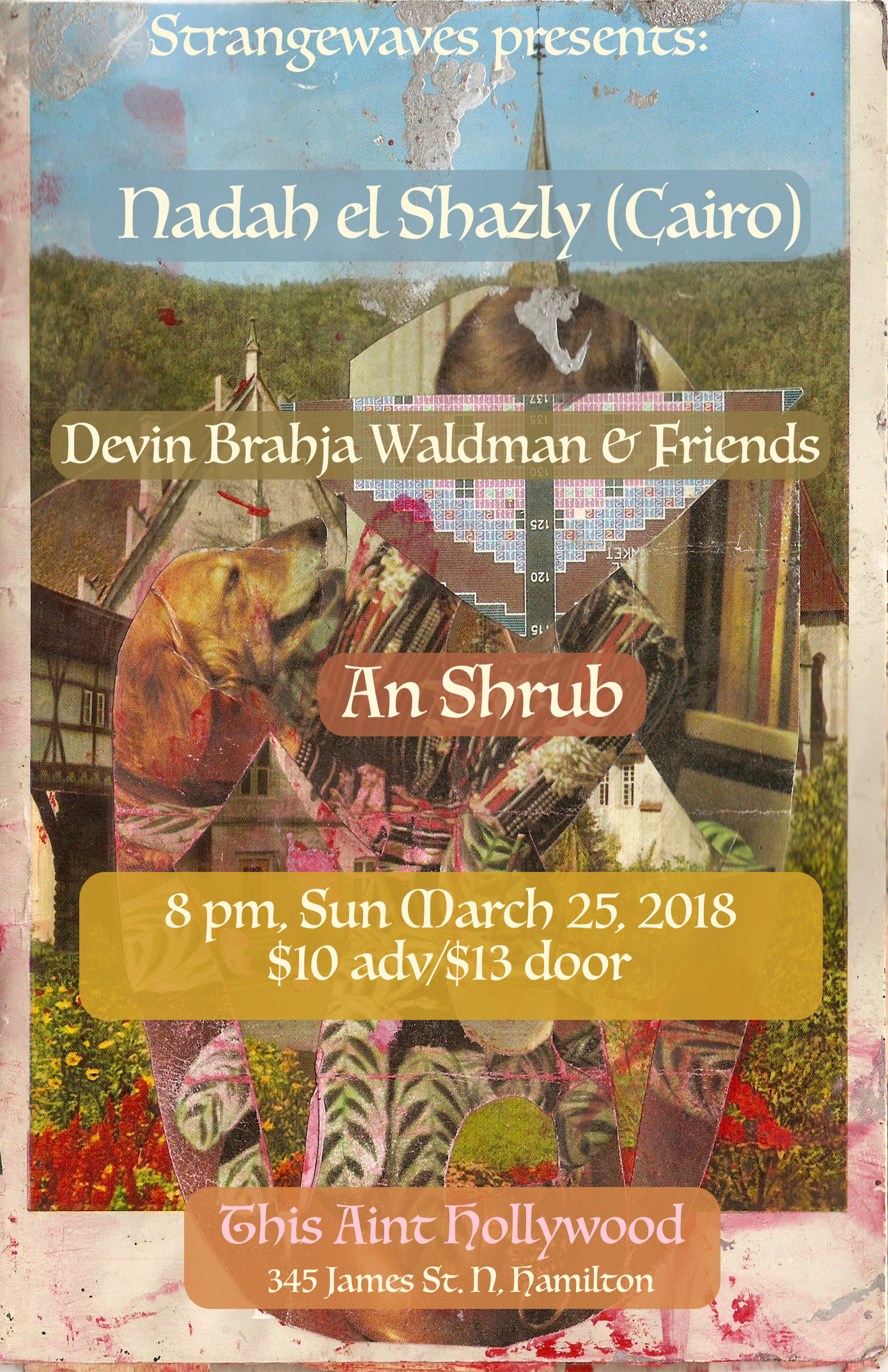Nadah El Shazly (Cairo), Devin Brahja Waldman &friends, An Shrub  @This Ain't Hollywood