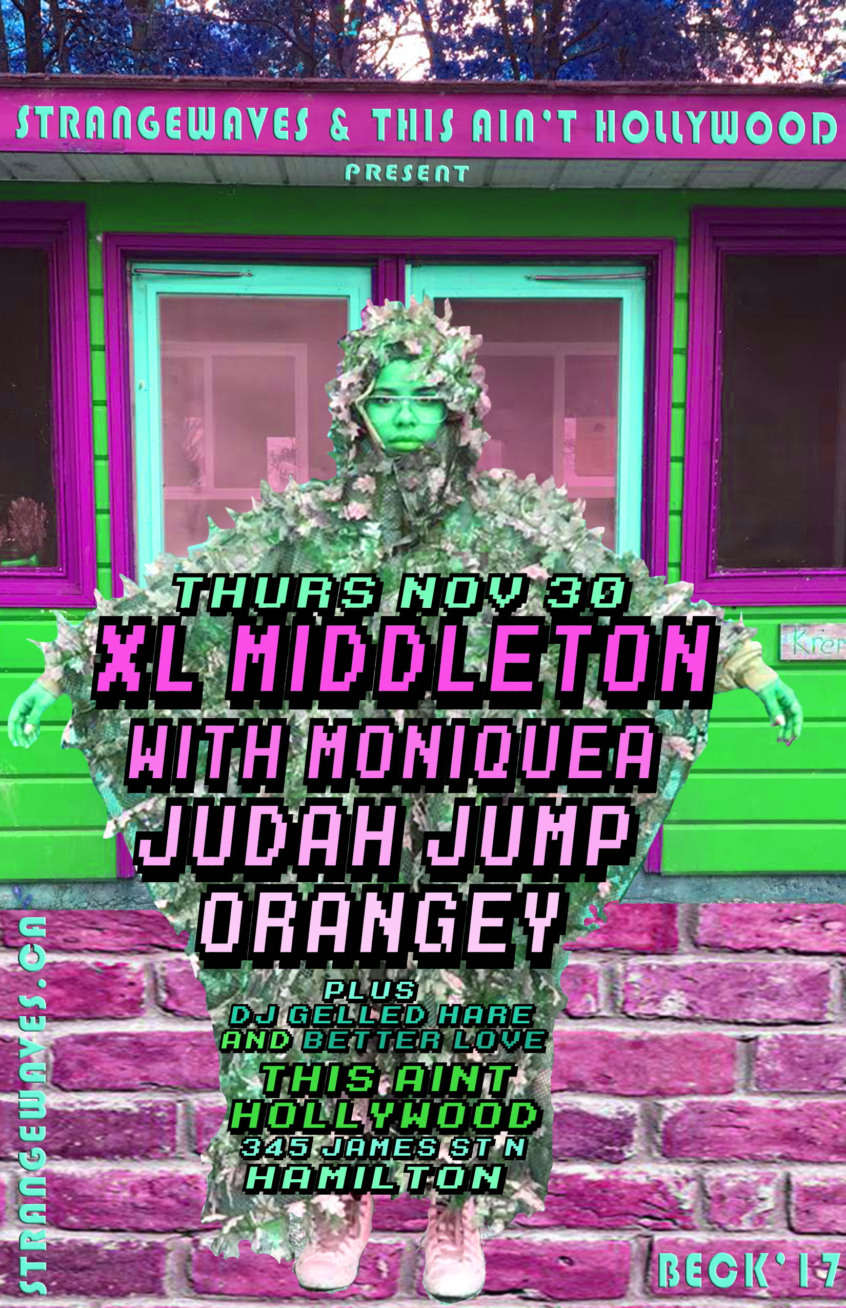 XL MIDDLETON WITH MONIQUEA + ORANGEY + JUDAH JUMP  @This Ain't Hollywood