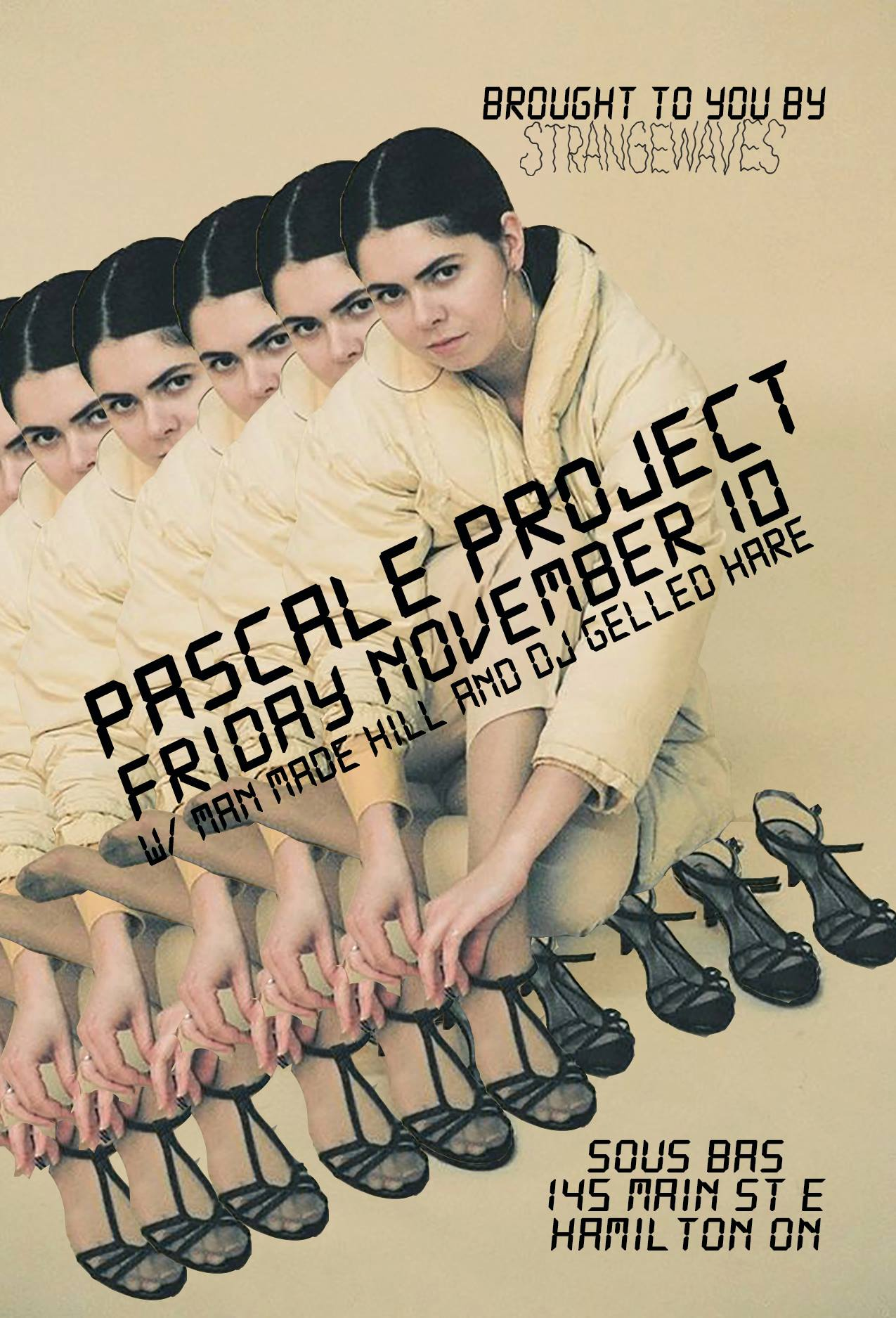 Pascale Project, Man Made Hill, DJ Gelled Hare  @Sous Bas