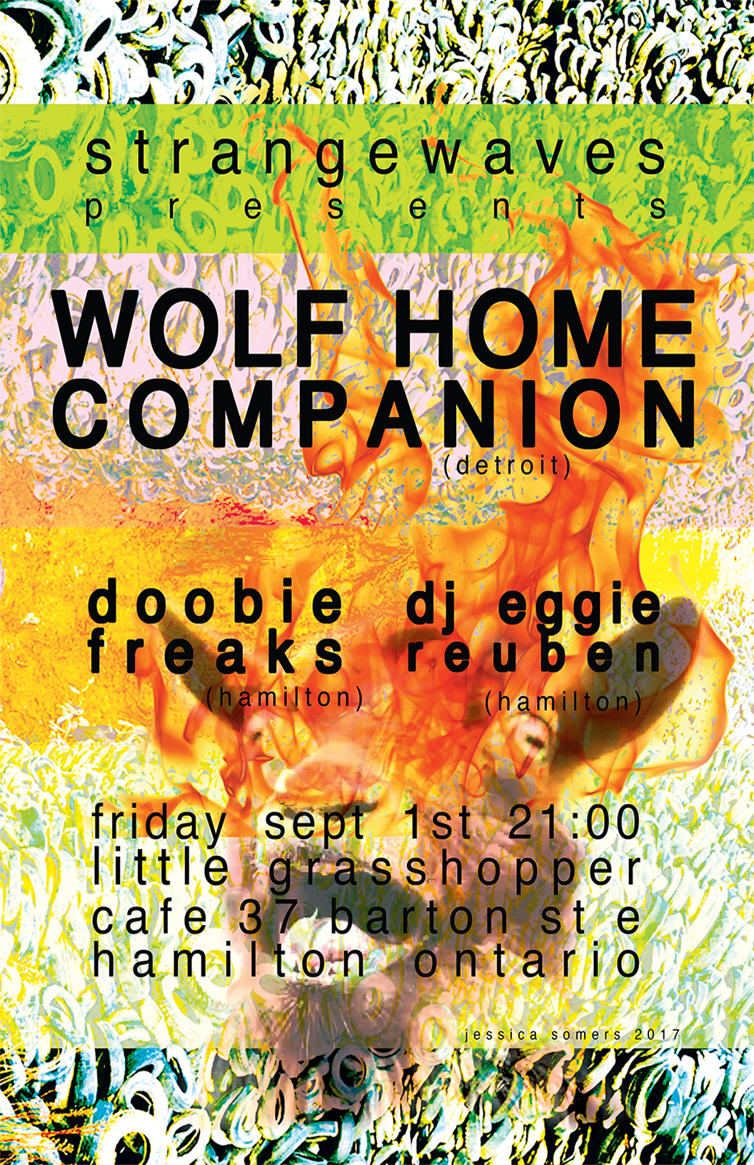 WOLF HOME COMPANION + DOOBIE FREAKS + DJ EGGIE REUBEN  @The Little Grasshopper Cafe