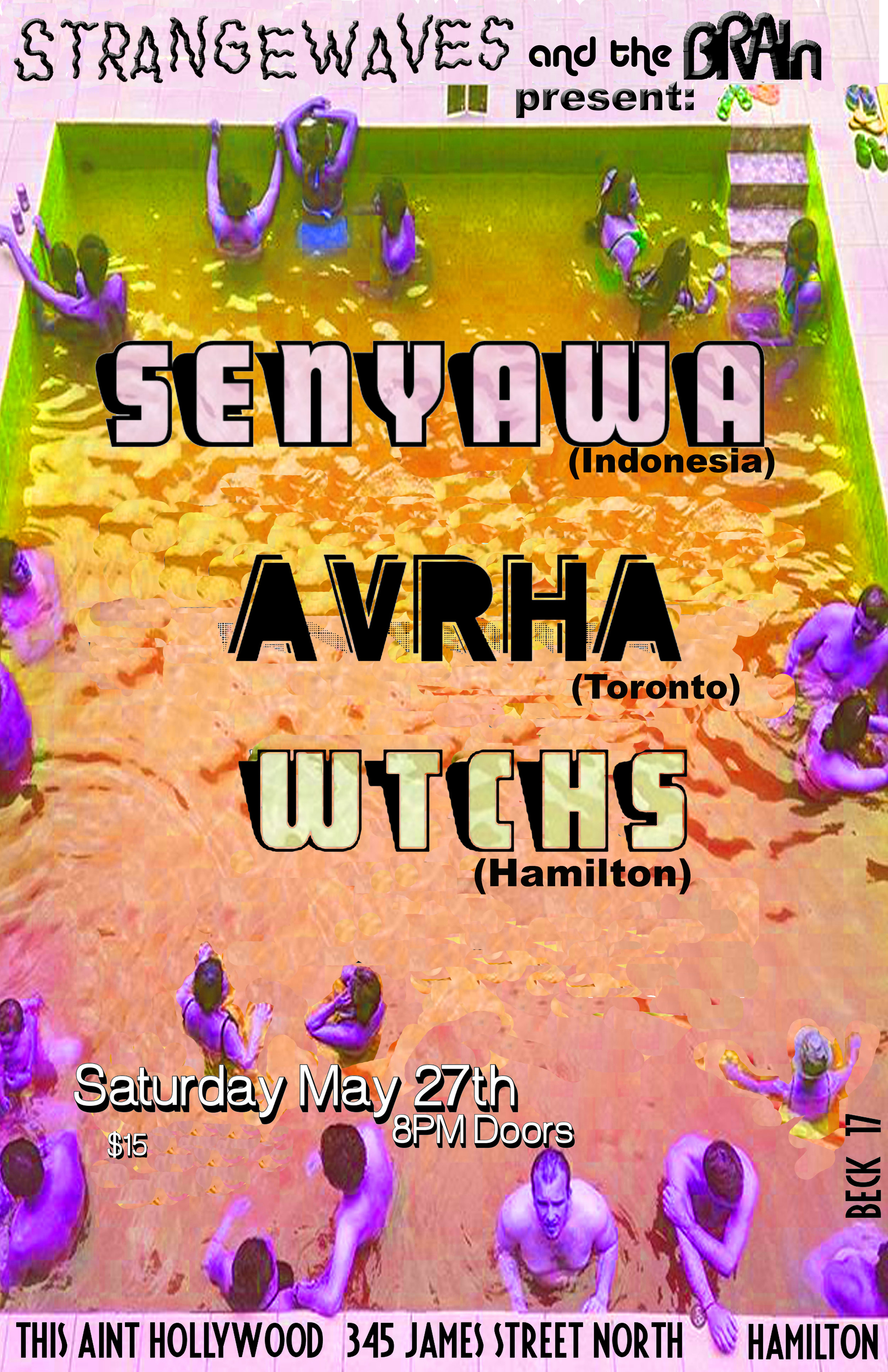 Senyawa (Indonesia) + WTCHS & AVRHA  @This Ain't Hollywood