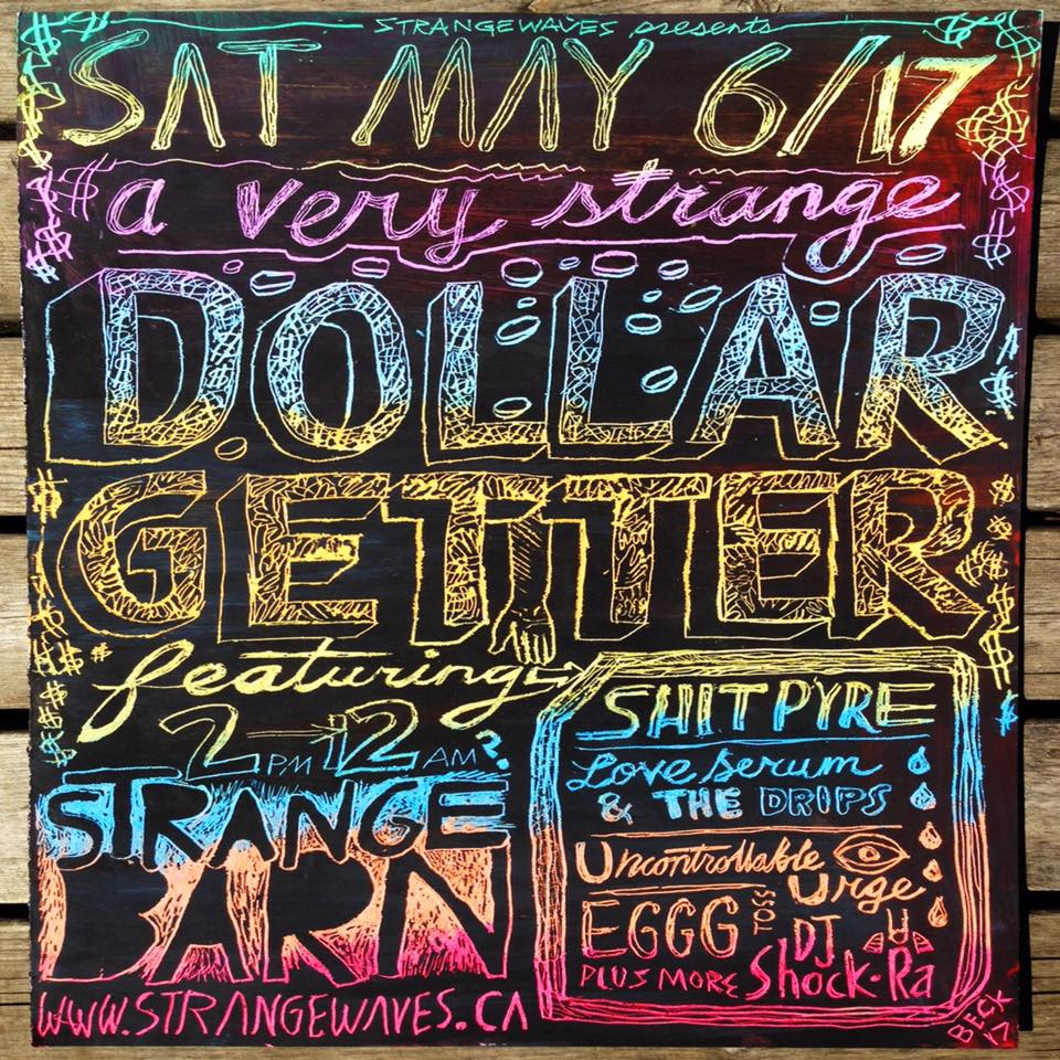 SW Fundraiser w/ Uncontrollable Urge/Shit Pyre/Love Serum/Eggg  @Strangebarn