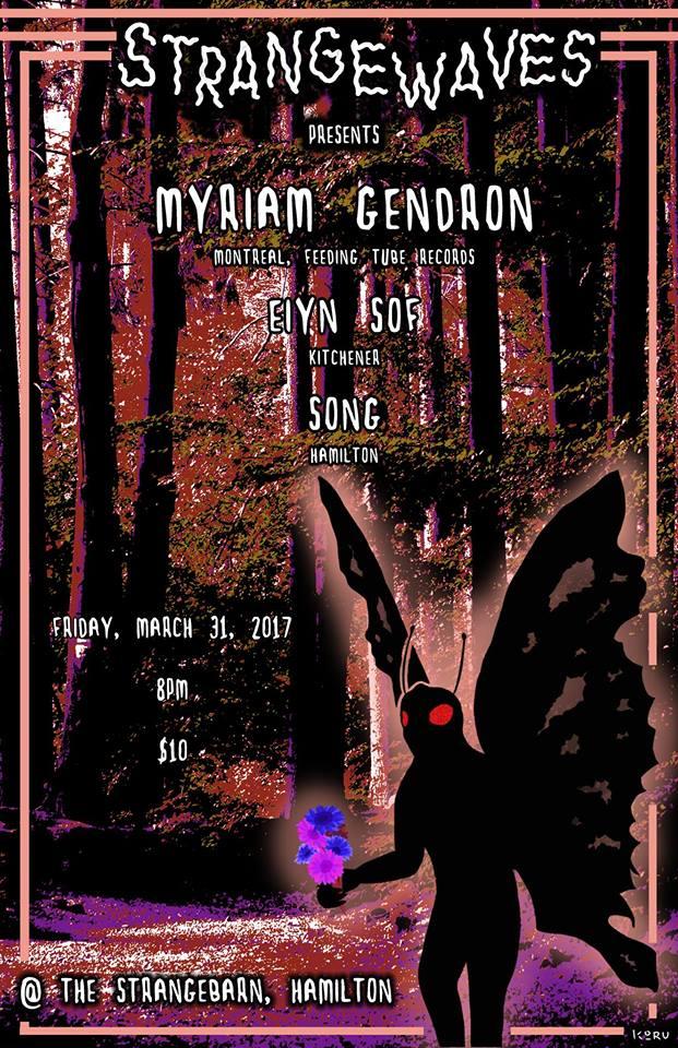 Myriam Gendron, Eiyn Sof, Song  @Strangebarn