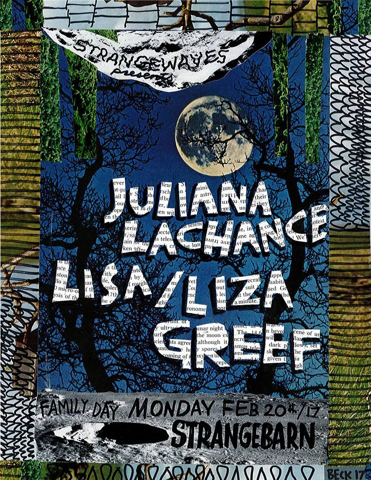 Juliana LaChance, Lisa/Liza, Greef - Family Night  @Strangebarn