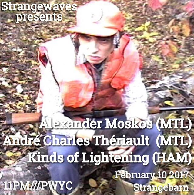 Alexander Moskos, André Charles Thériault, Kinds of Lightening  @Strangebarn